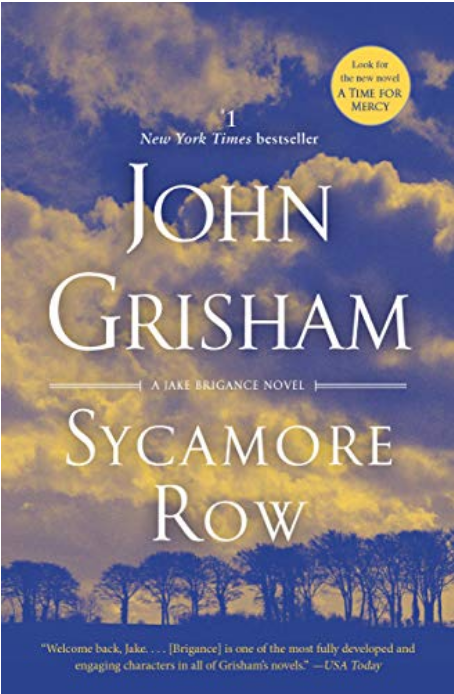 Sycamore Row (Jake Brigance Book 2)