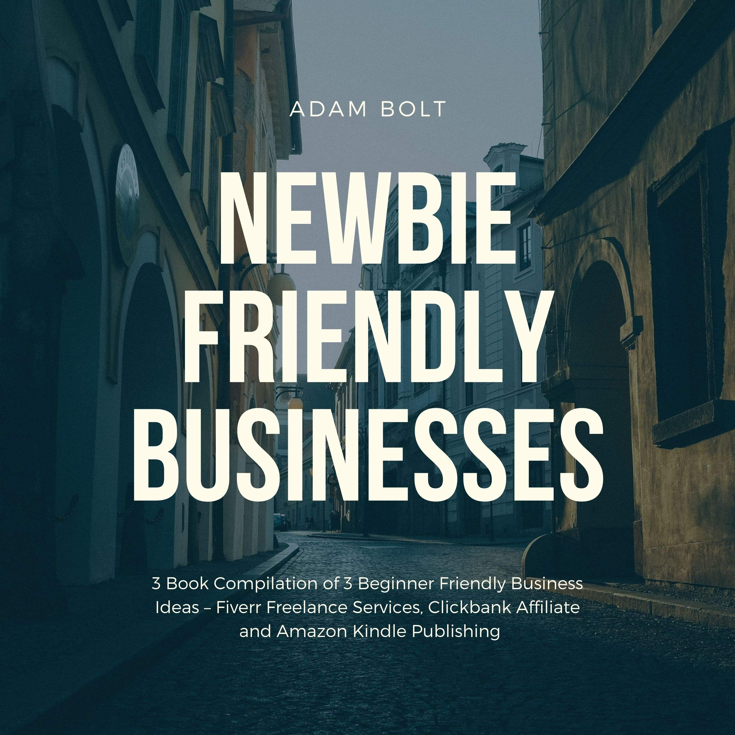 Newbie Friendly Businesses: 3 Book Compilation of 3 Beginner Friendly Business Ideas – Fiverr Freelance Services, Clickbank Affiliate and Amazon Kindle Publishing
