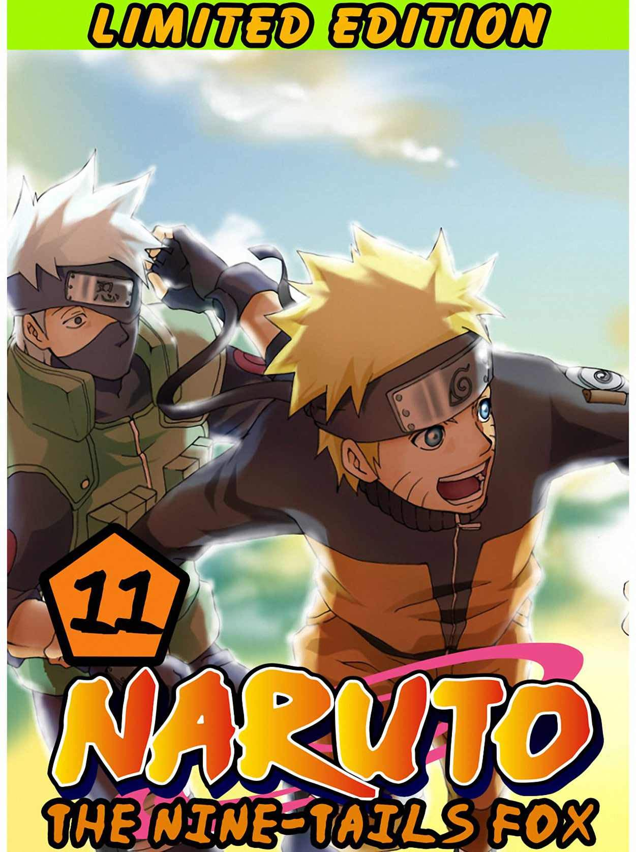 The Nine-Tails Fox: Collection Pack 11 - Ninja Naruto Shonen Action Manga Graphic Novel For Children
