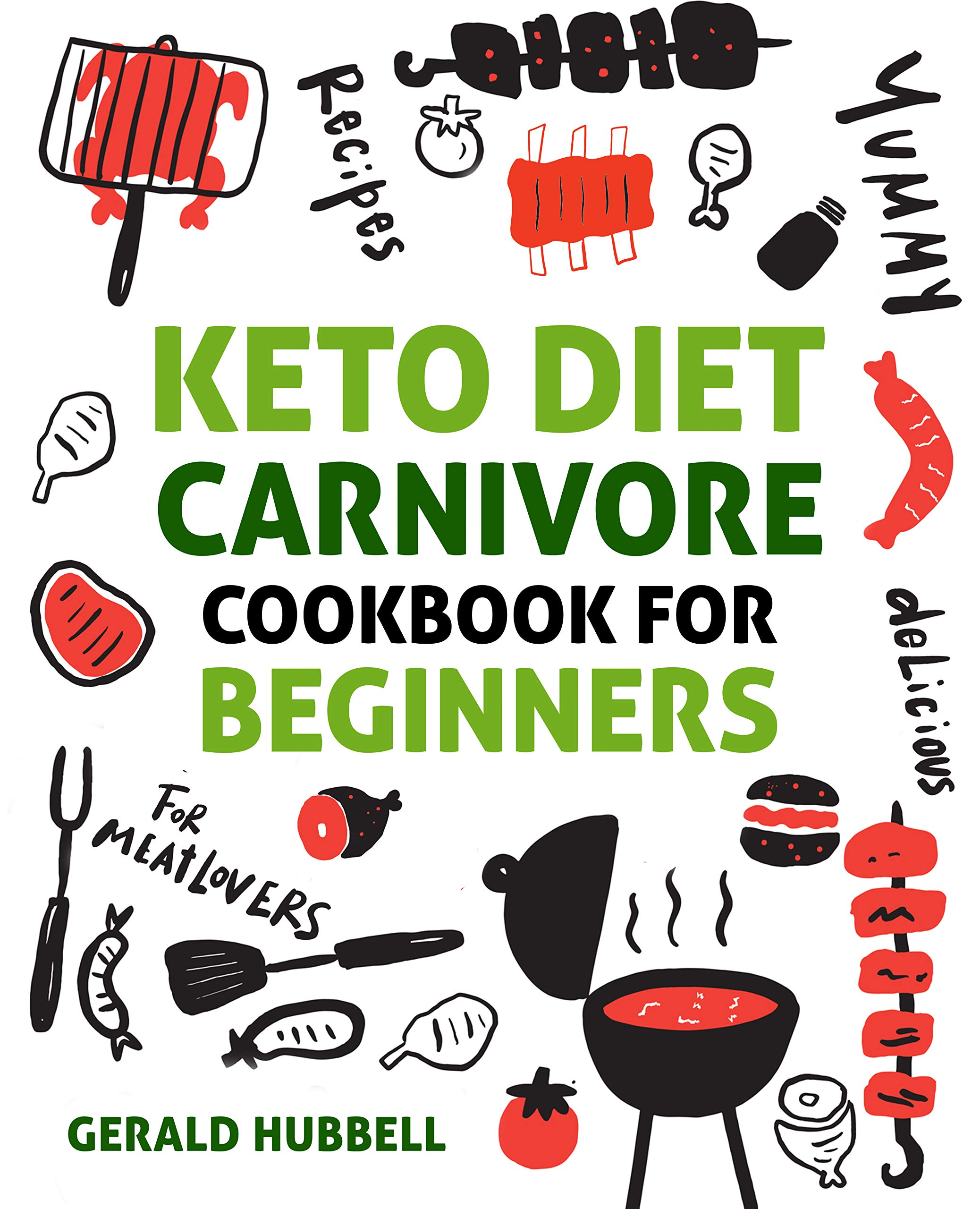 Keto Diet Carnivore Cookbook For Beginners: Yummy & Delicious Recipes For Meatlovers