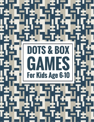 Dots & Box Games For Kids Age 6-10: 2 Player Activity Book - Toe Dots and Boxes game with a score (Pen and Paper Game) Kids Fun Game - Traveling & Holidays game book- free time Fun and Challenge Game