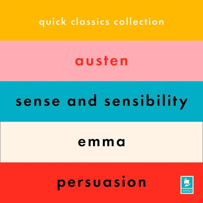 The Jane Austen Collection: Sense and Sensibility, Emma, Persuasion