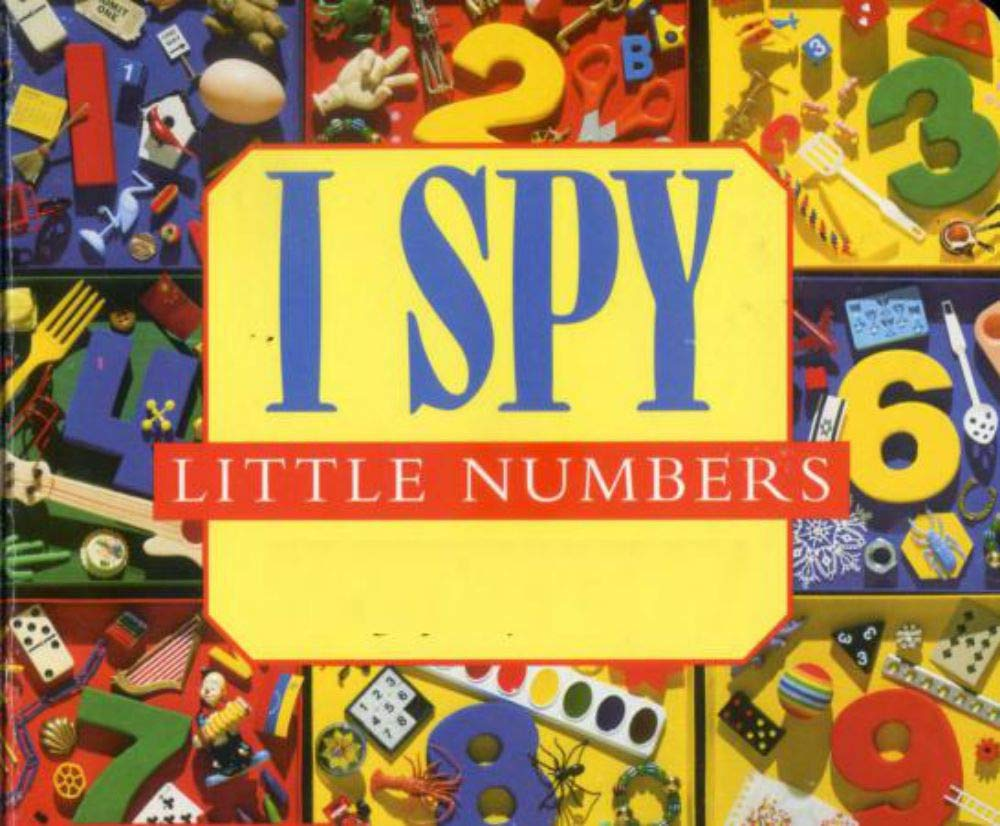 i spy little numbers: Picture books for children