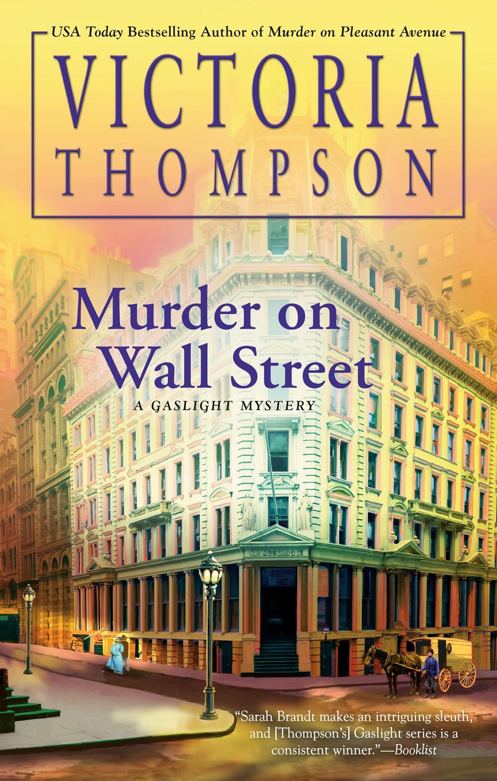 Murder on Wall Street (Gaslight Mystery, #24)
