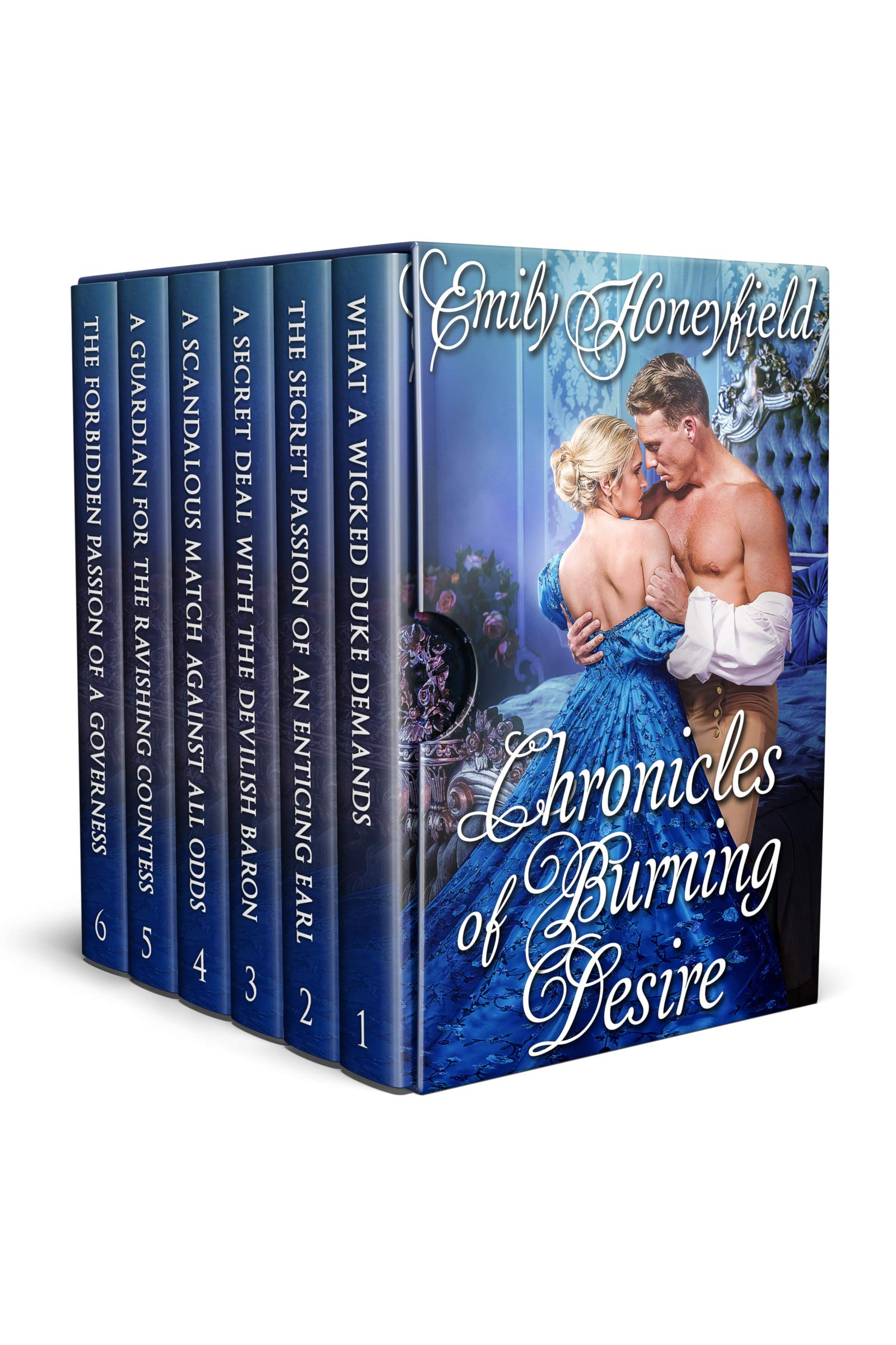 Chronicles of Burning Desire: A Historical Regency Romance Collection