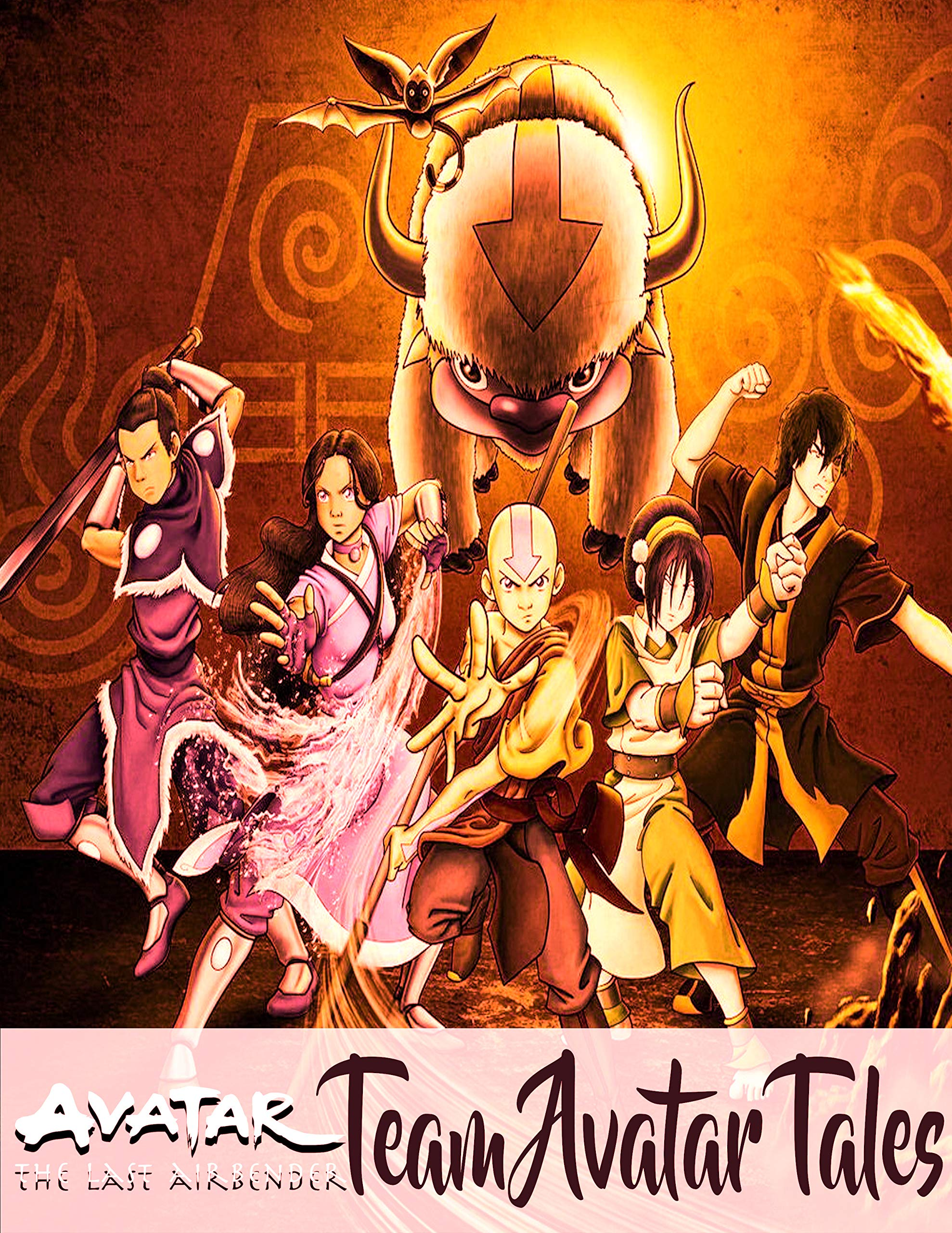 Avatar: The Last Airbender Team Avatar Tales Nickelodeon Avatar American animated fantasy action-adventure television series comic