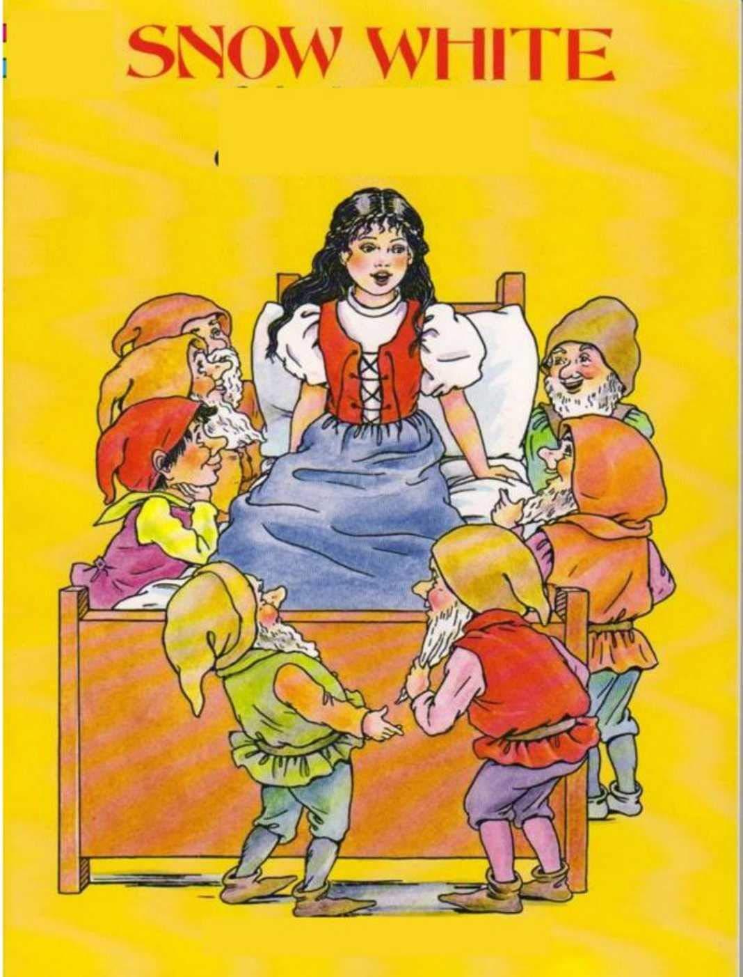 Snow White: Interesting children's story books