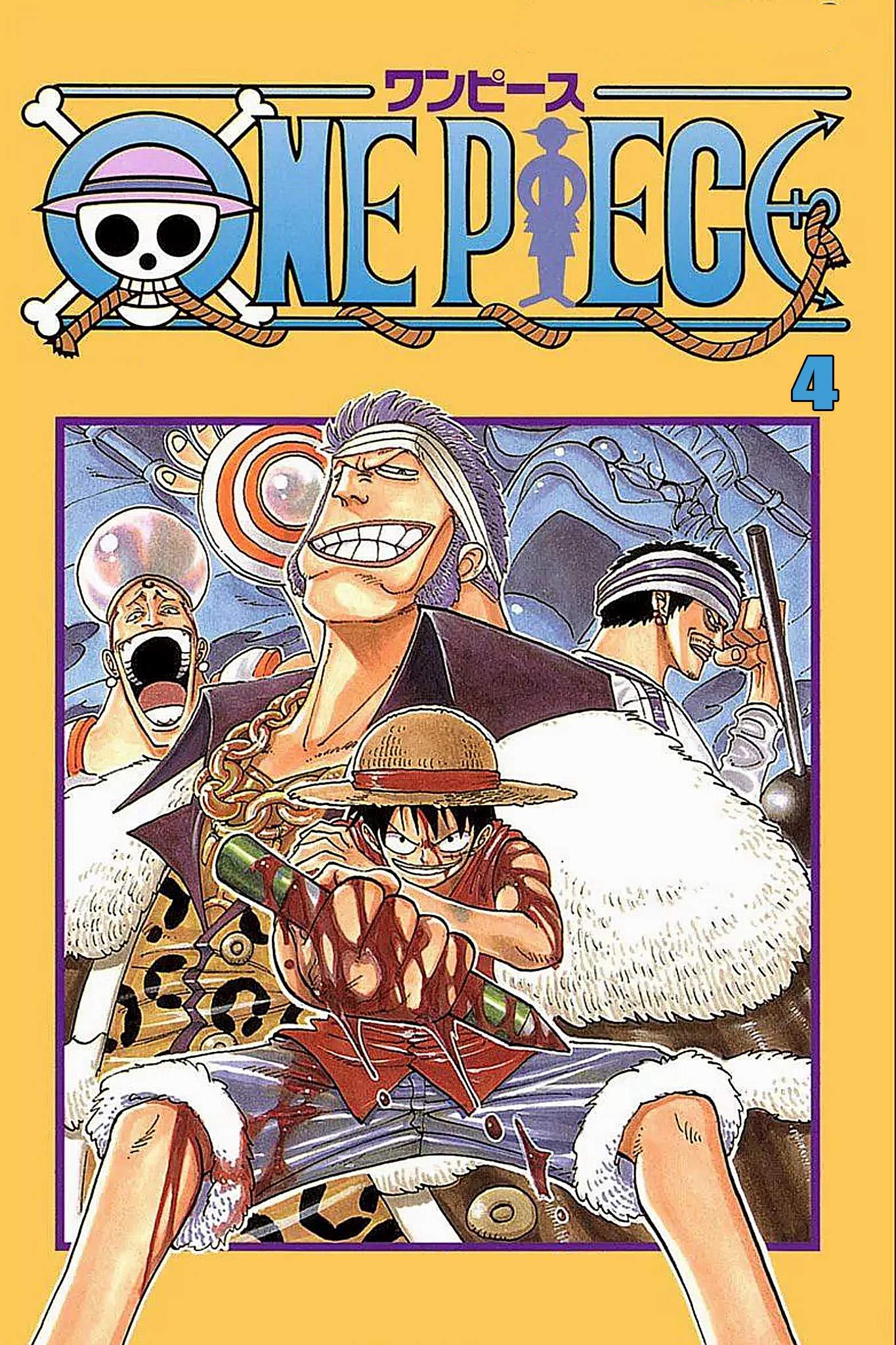 The Best Manga Fantasy: One Piece Full Volume 4