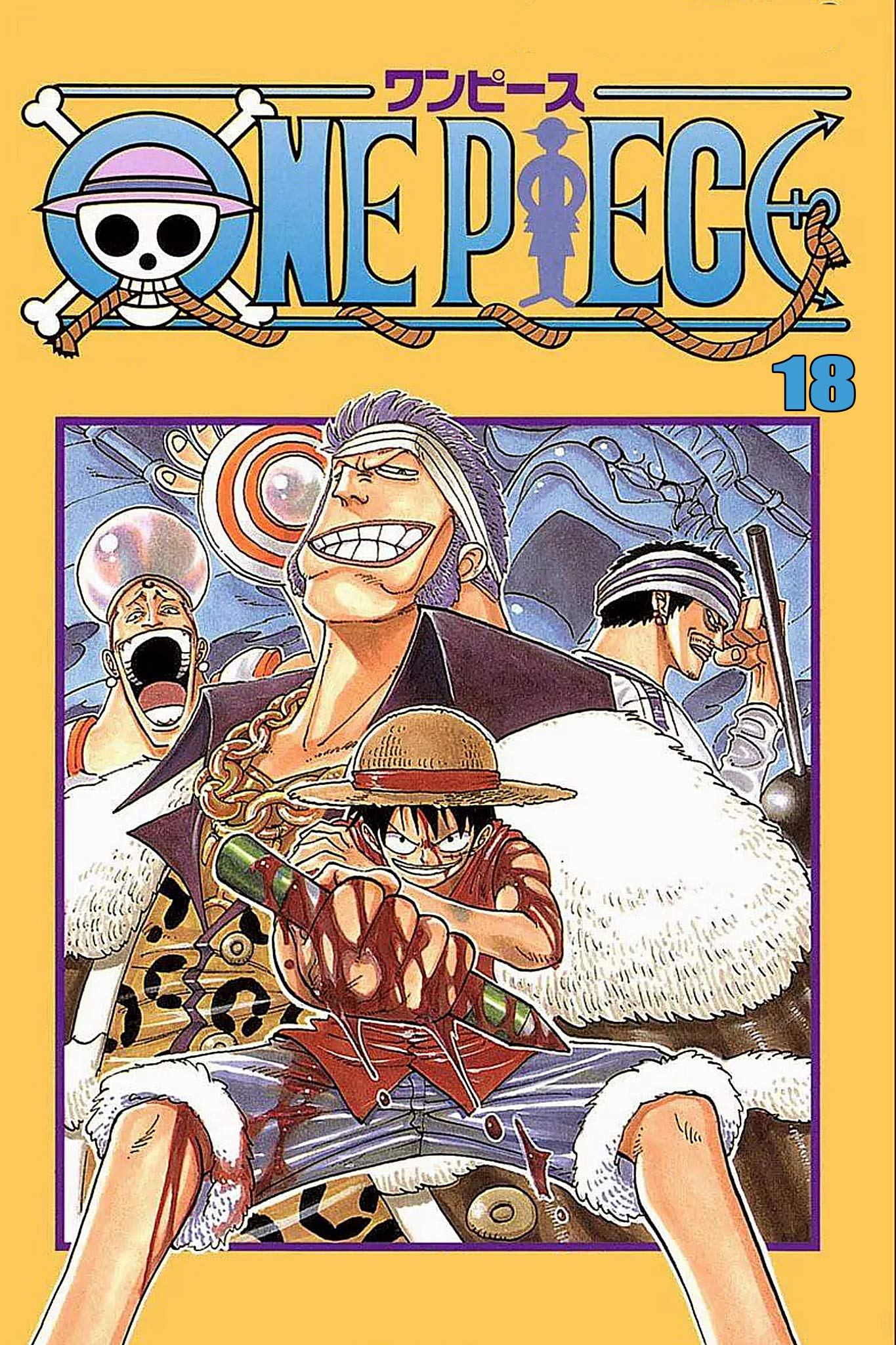The Best Manga Fantasy: One Piece Full Volume 18