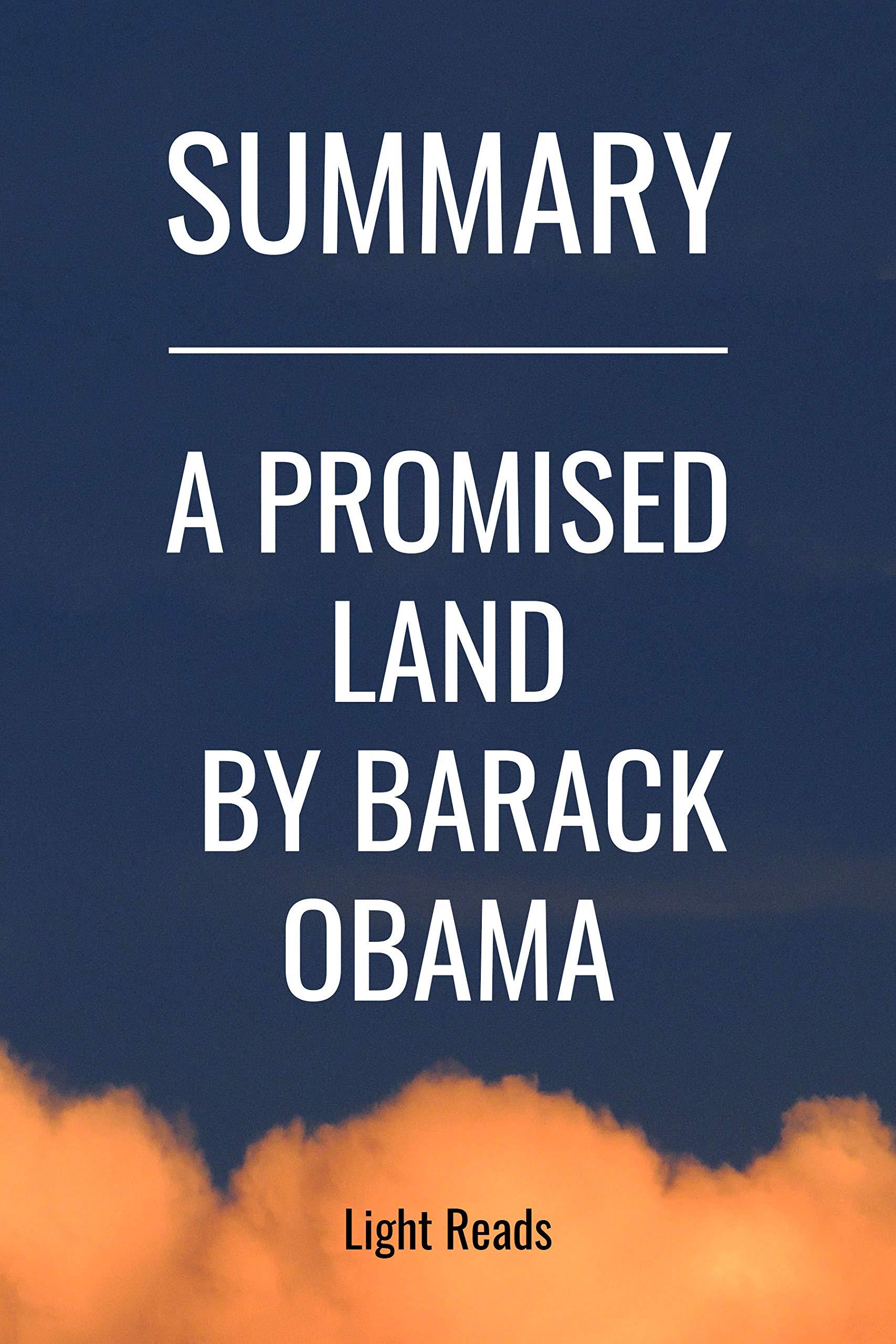 Summary: A Promised Land by Barack Obama