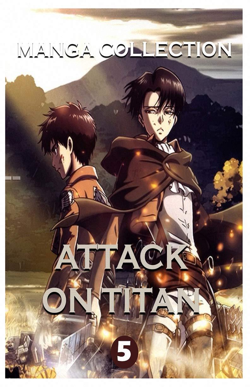 Manga Attack On Titan: Attack On Titan Best Horror Fantasy Manga Vol 5