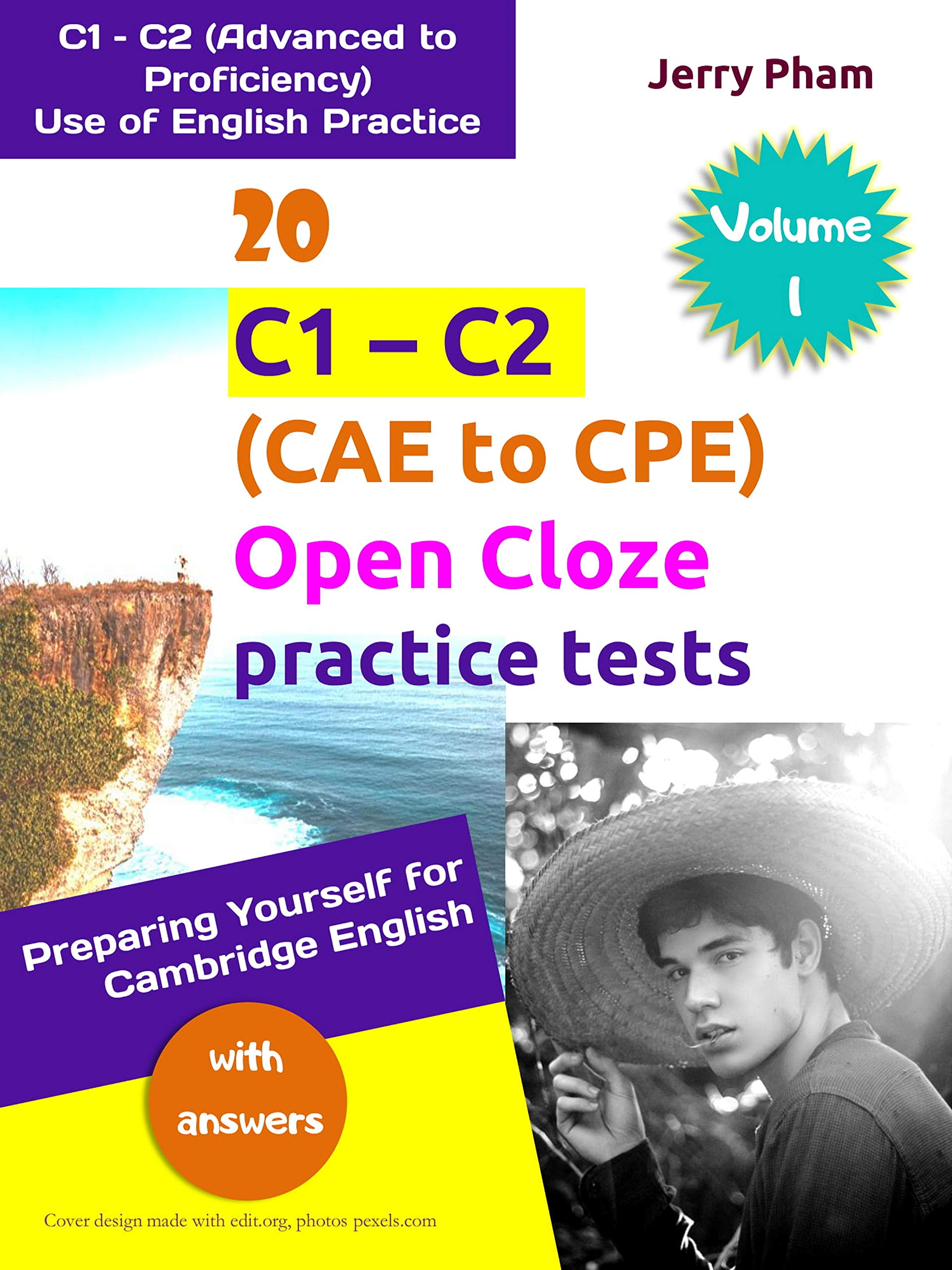 20 C1-C2 (CAE to CPE) Open Cloze practice tests