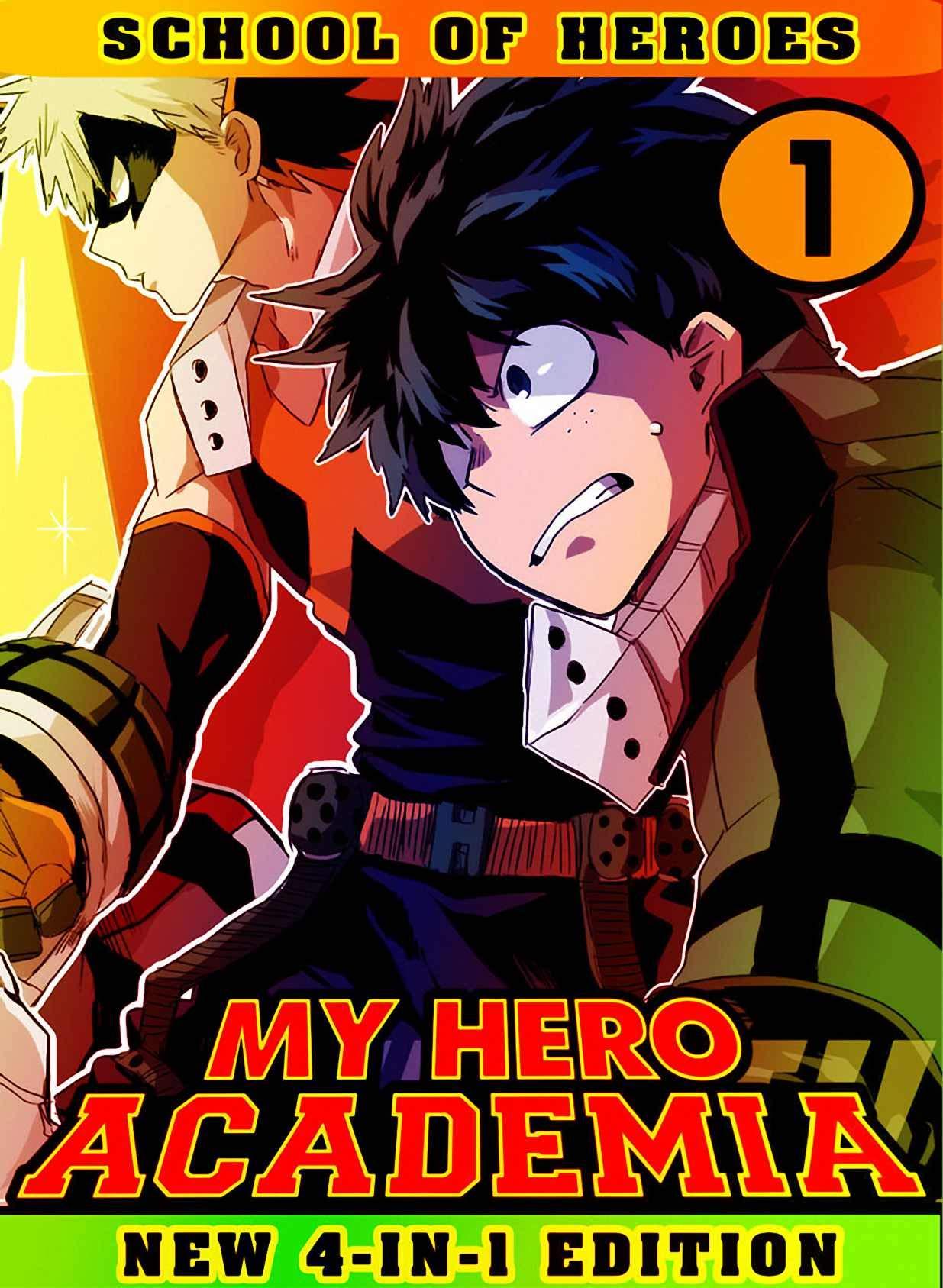 My Hero Academia School: Book 1 Collection - Manga My Hero Academia Action Shonen Adventure Fantasy