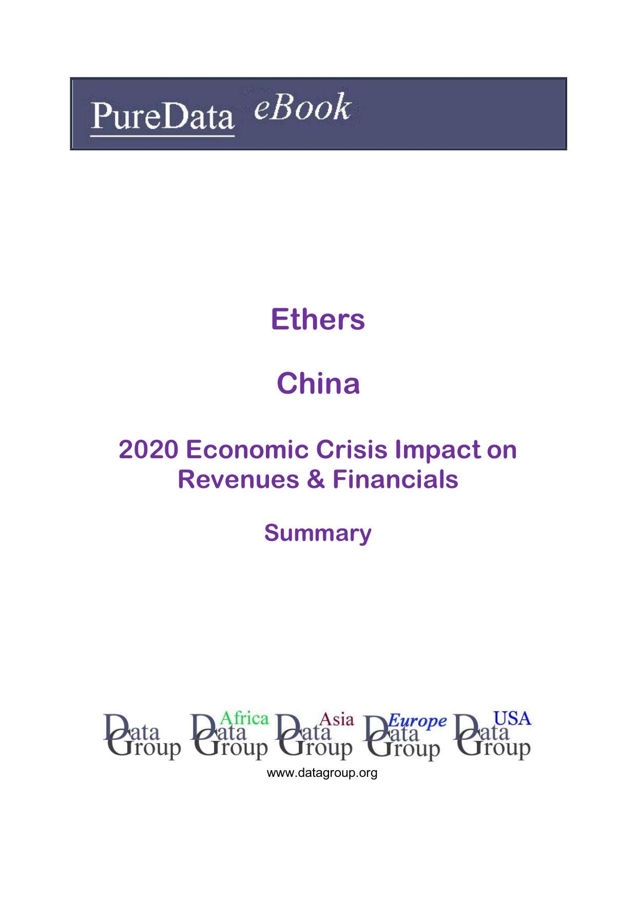 Ethers China Summary: 2020 Economic Crisis Impact on Revenues & Financials