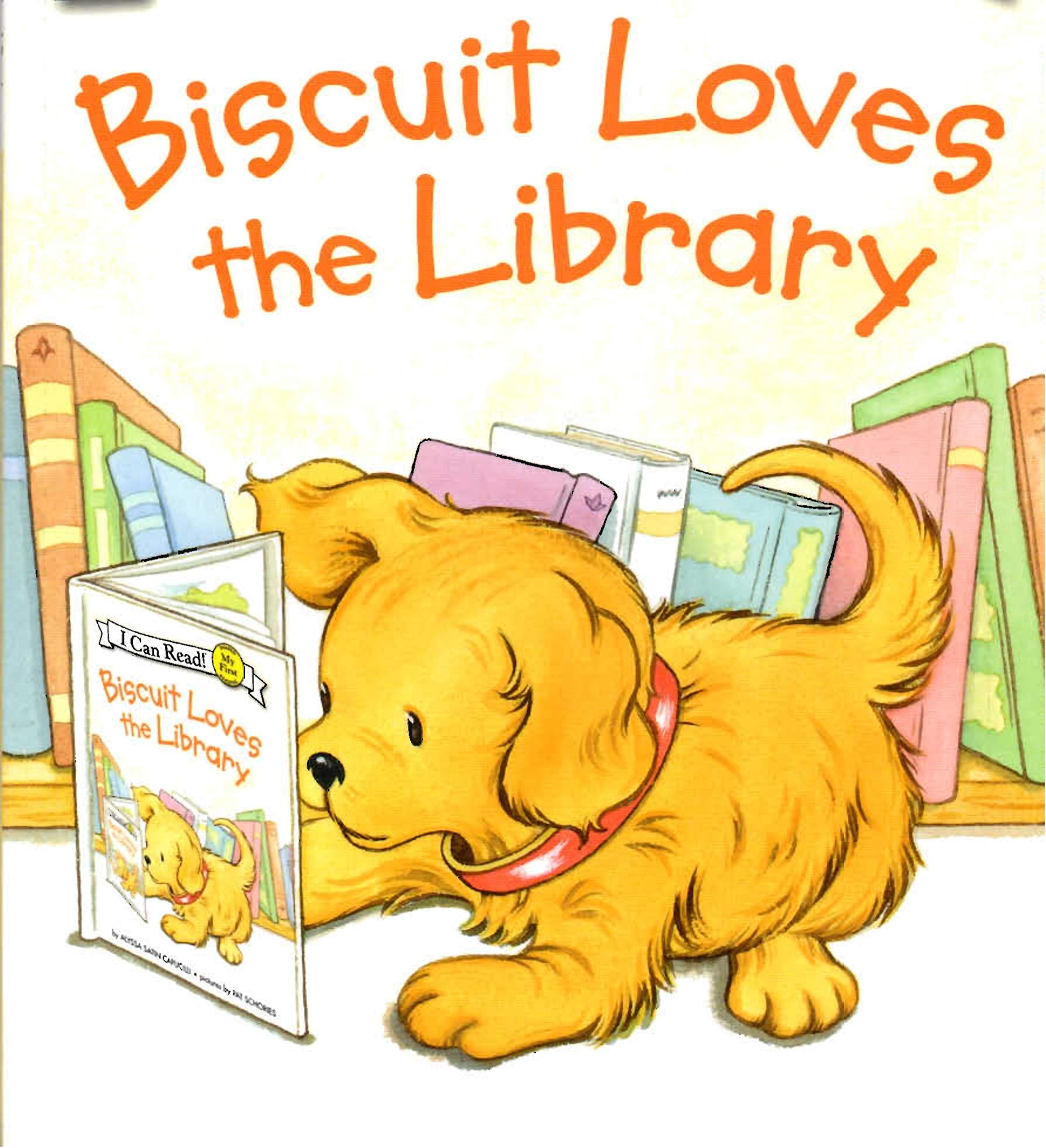 Biscuit Loves the library: Children's books for 4-7 years old