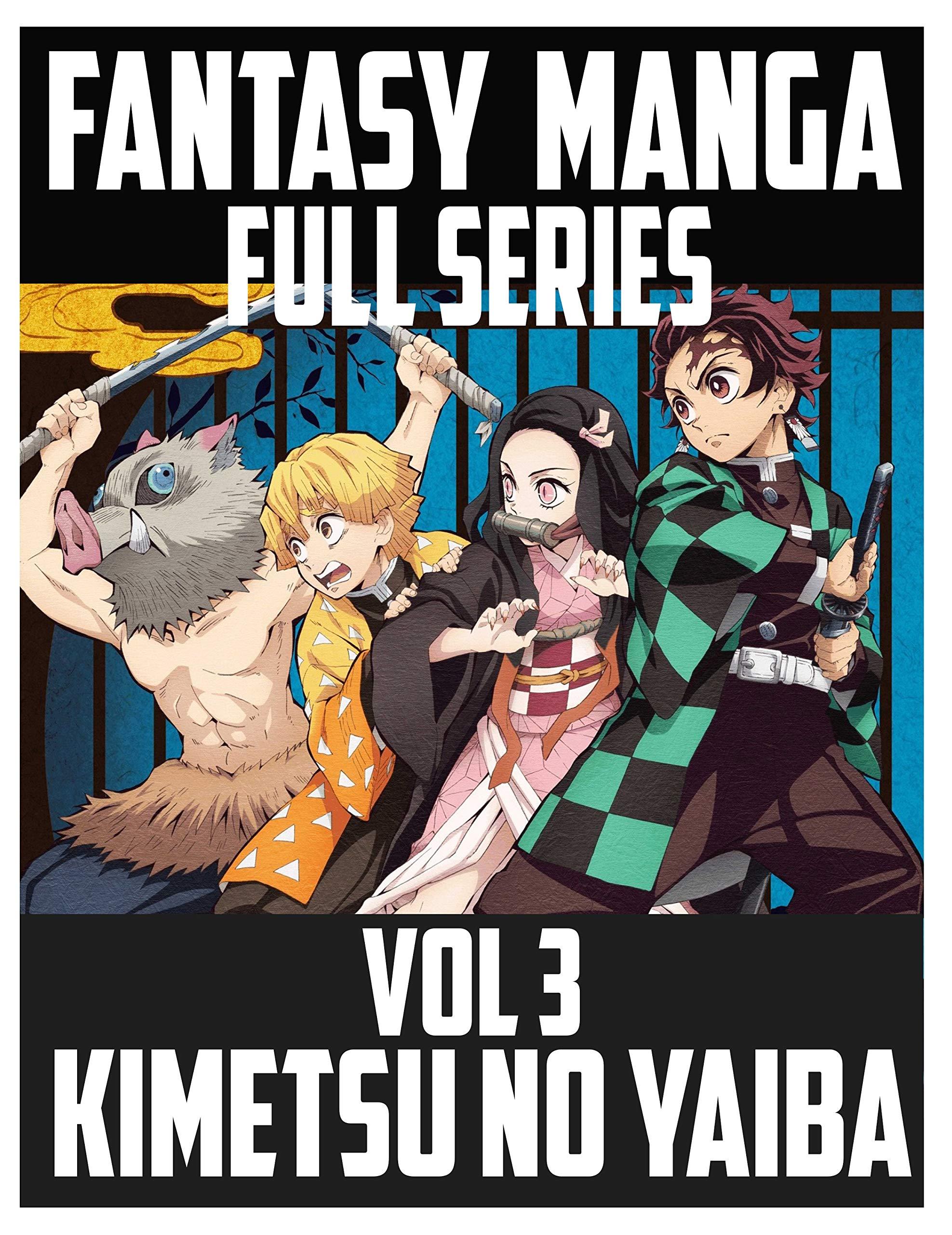 Best Fantasy Manga Series Kimetsu no Yaiba: Kimetsu no Yaiba Demon Slayer bestmanga vol 3