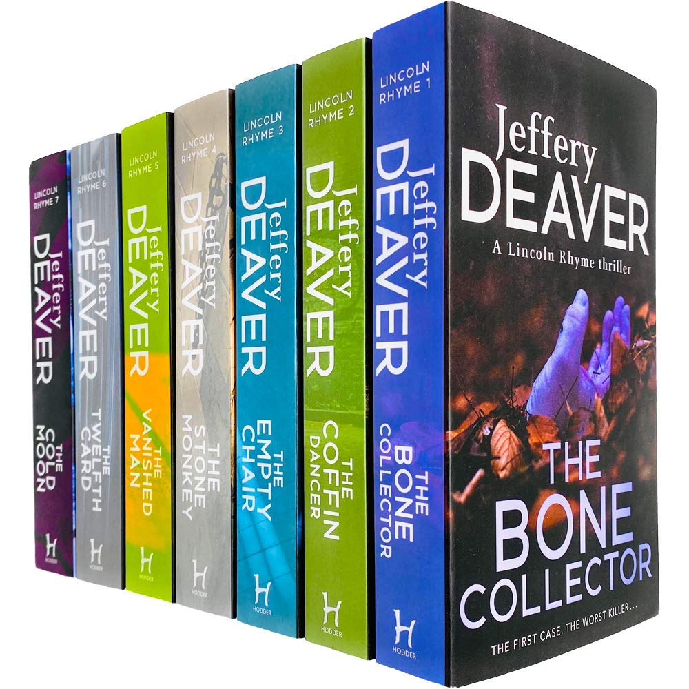 Lincoln Rhyme Thrillers Series Books 1 - 7 Collection Set by Jeffery Deaver