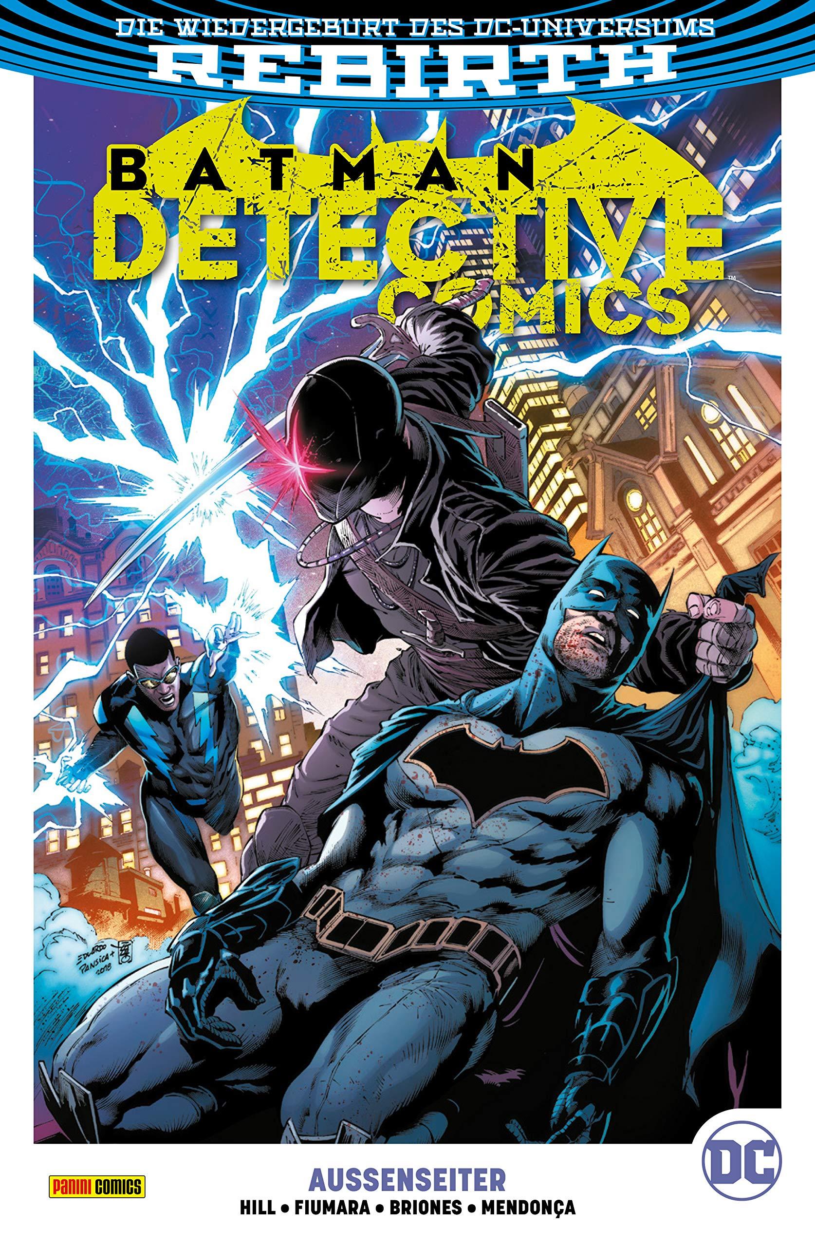 Batman - Detective Comics - Bd. 8 (2. Serie): Außenseiter