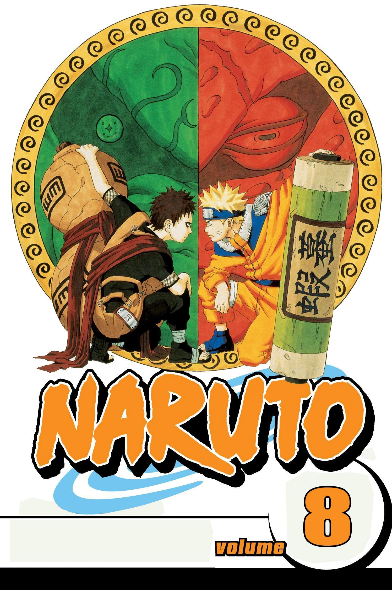 New Manga Full Color: Naruto Volume 8
