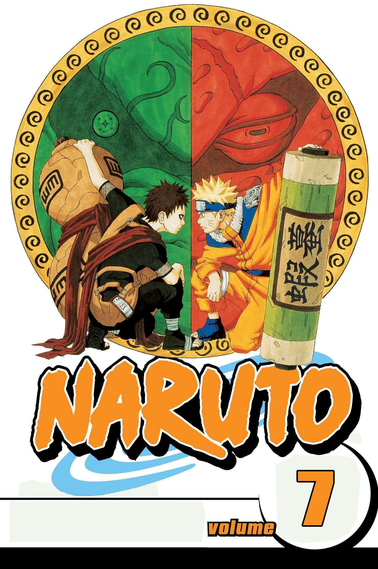 New Manga Full Color: Naruto Volume 7