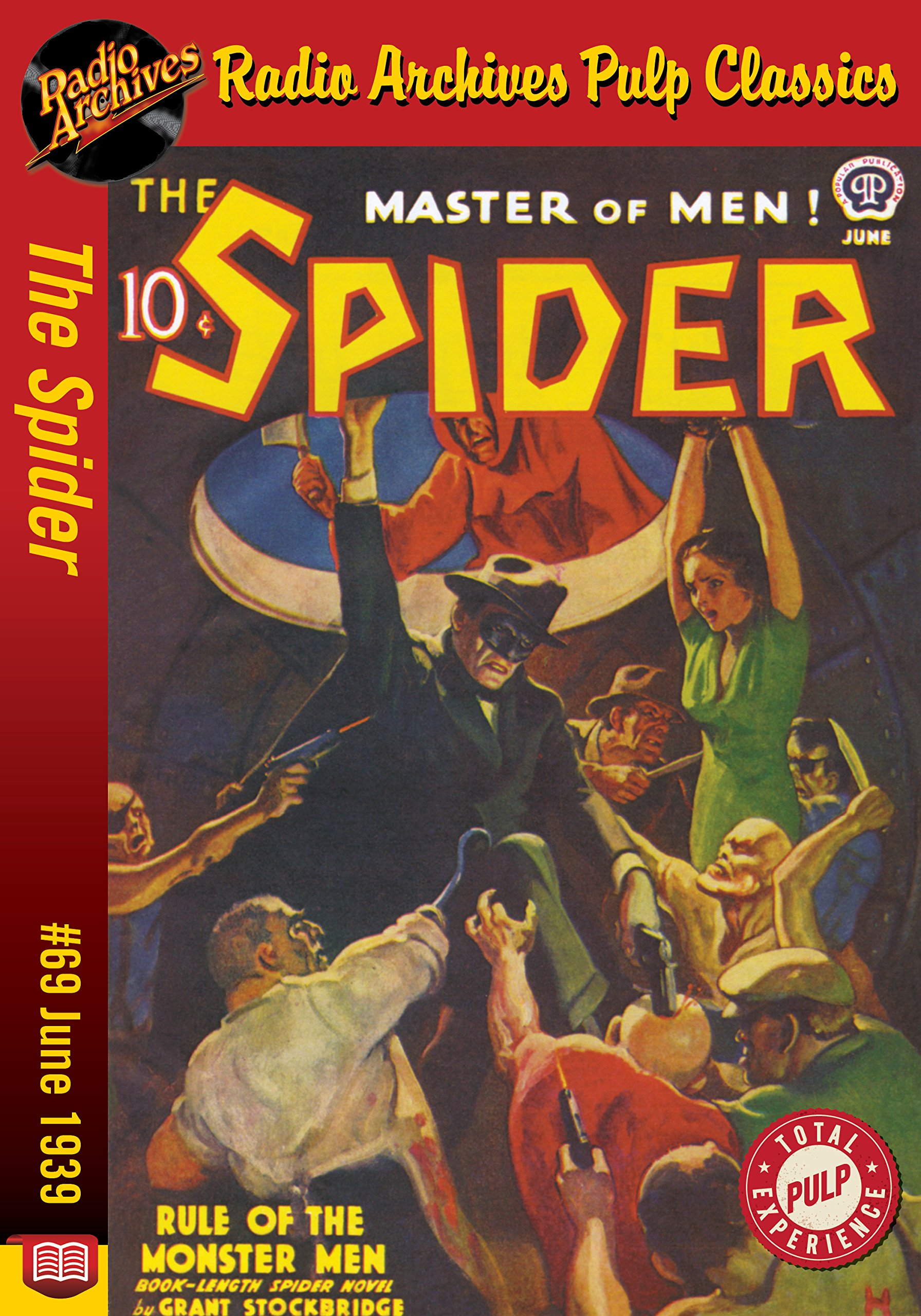 The Spider eBook #69: Rule of the Monster Men