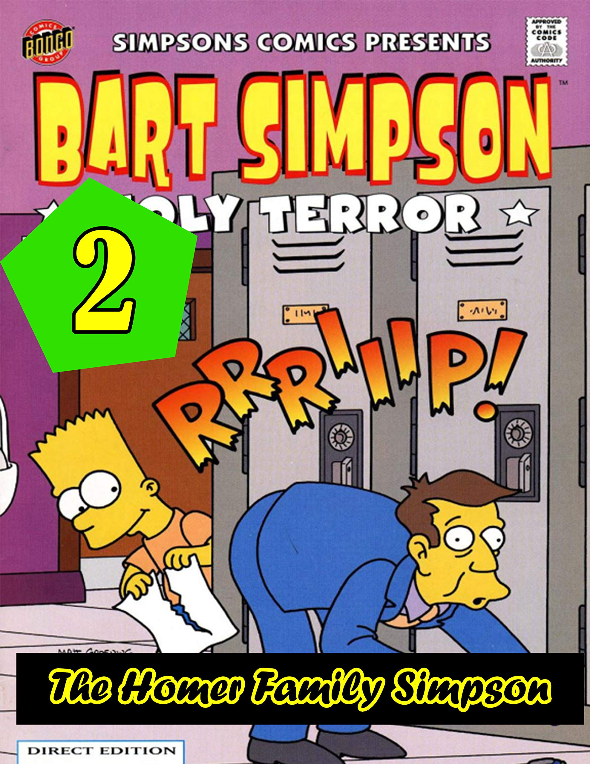 THE HOMER FAMILY SIMPSON FOR KID: COMIC HORROR - Collection Deluxe Book 2