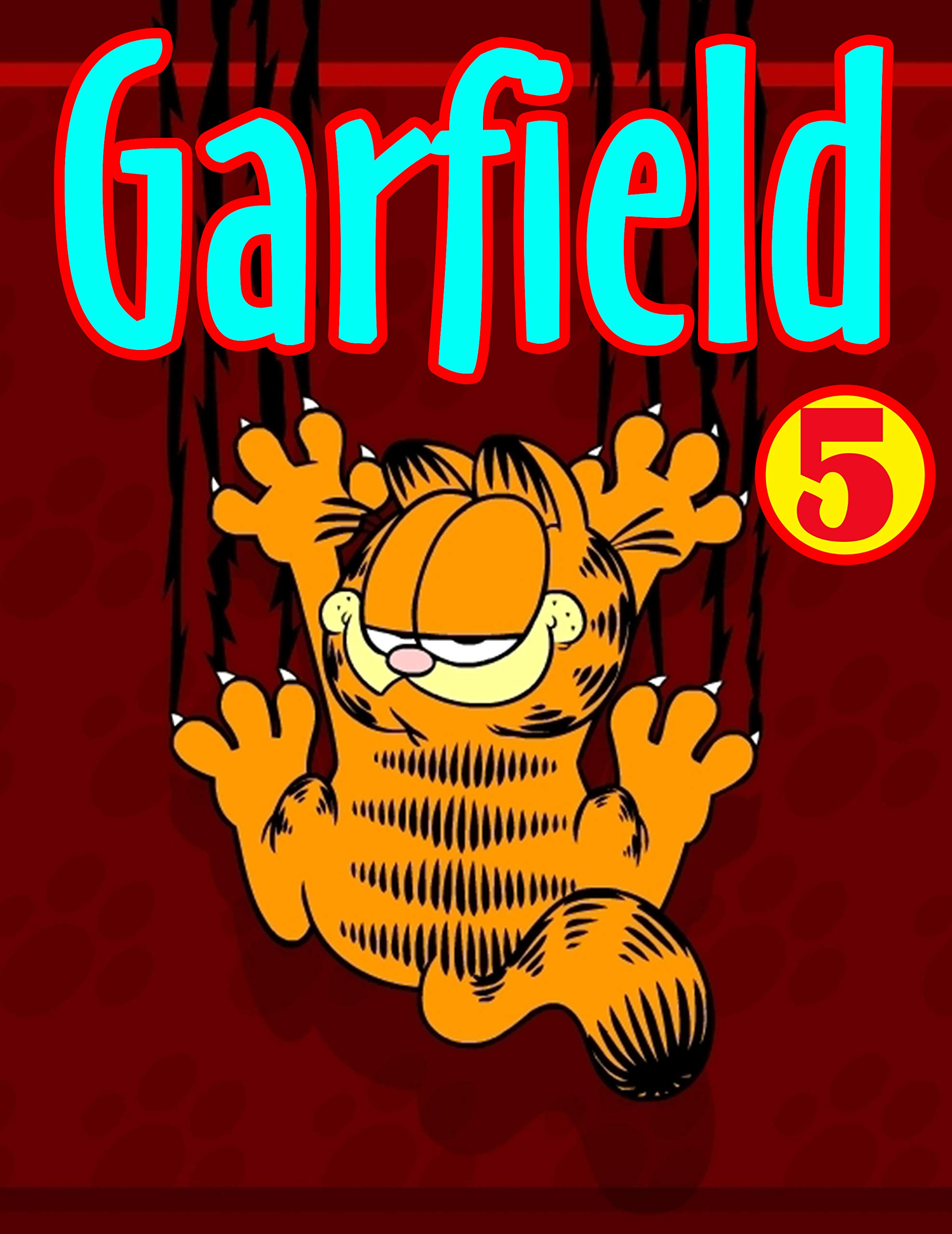 Childrens Books Full Series Garfield Funny: Fat Cat Garfield Limited Edition Book 5