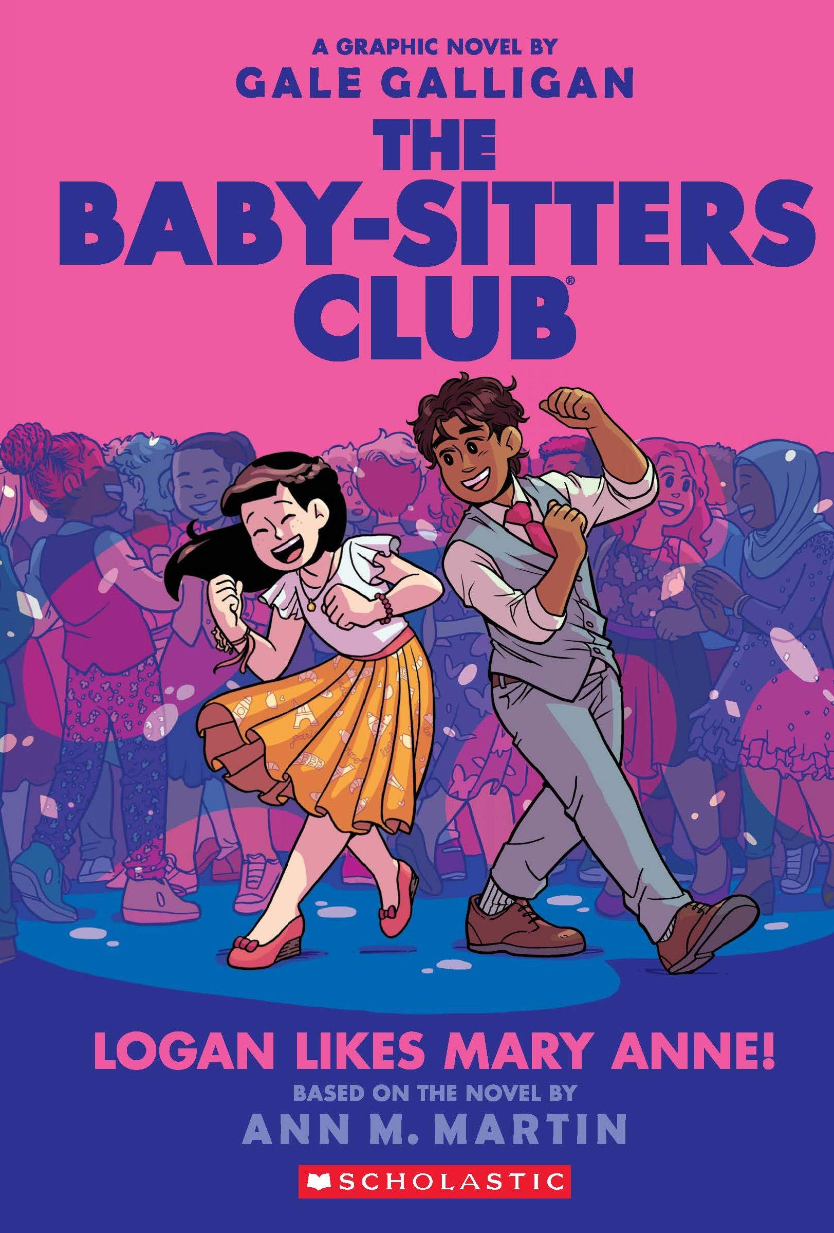 Baby-Sitters Club Graphix #8: Logan Likes Mary Anne!