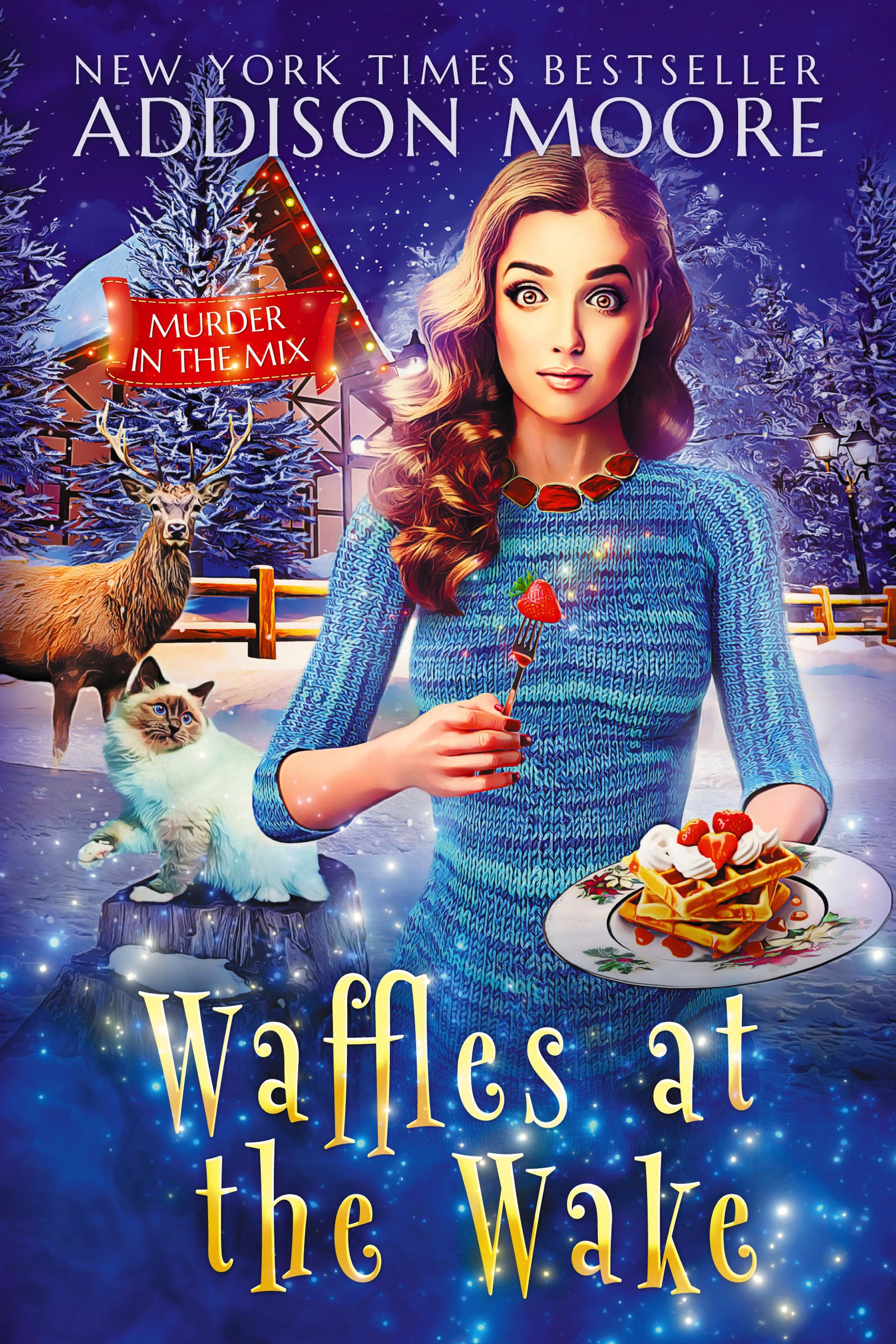 Waffles at the Wake (Murder in the Mix #29)