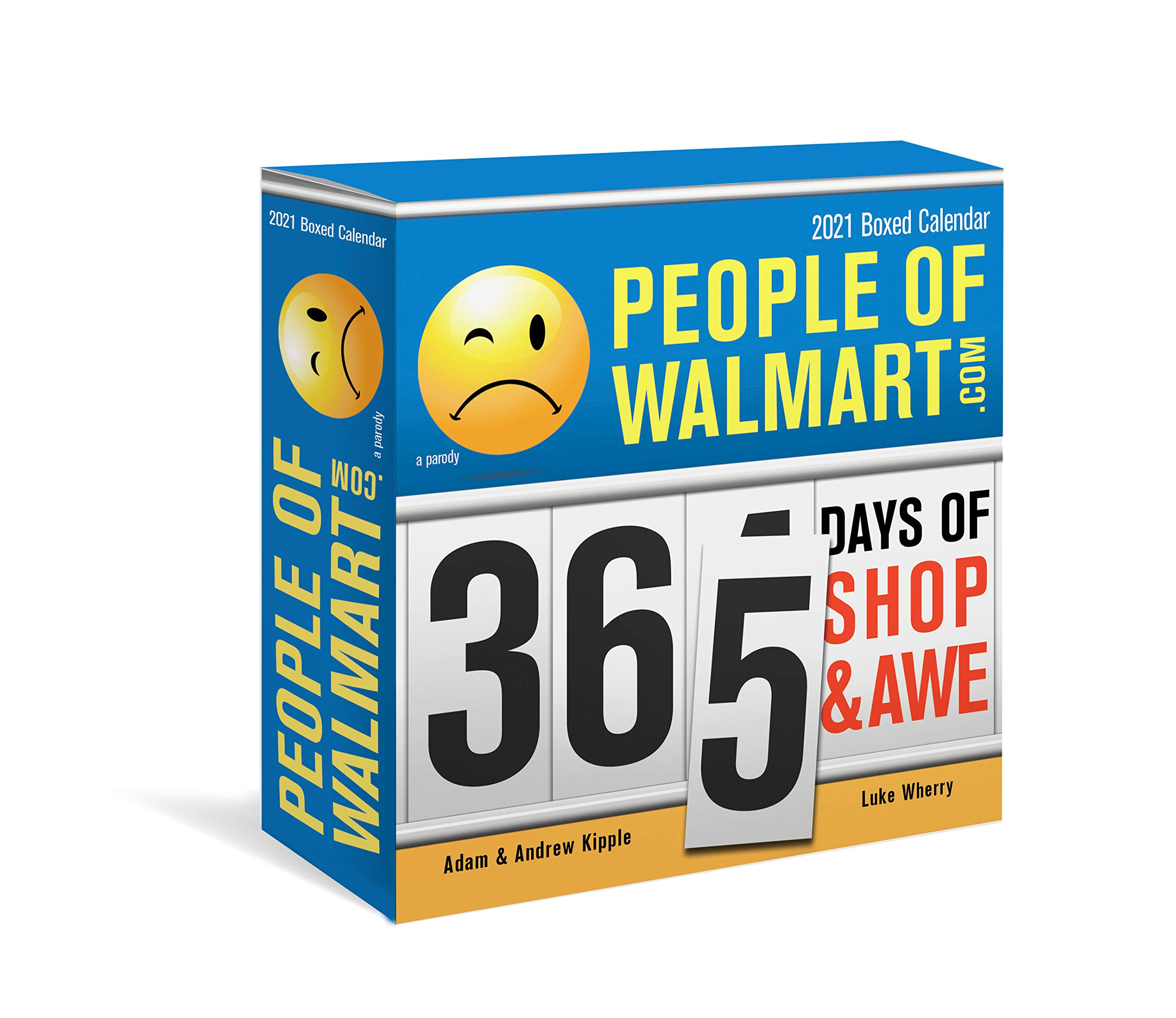 2021 People of Walmart Boxed Calendar: 365 Days of Shop and Awe