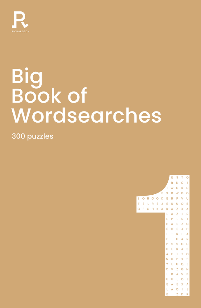 Big Book of Wordsearches Book 1: a bumper word search book for adults containing 300 puzzles
