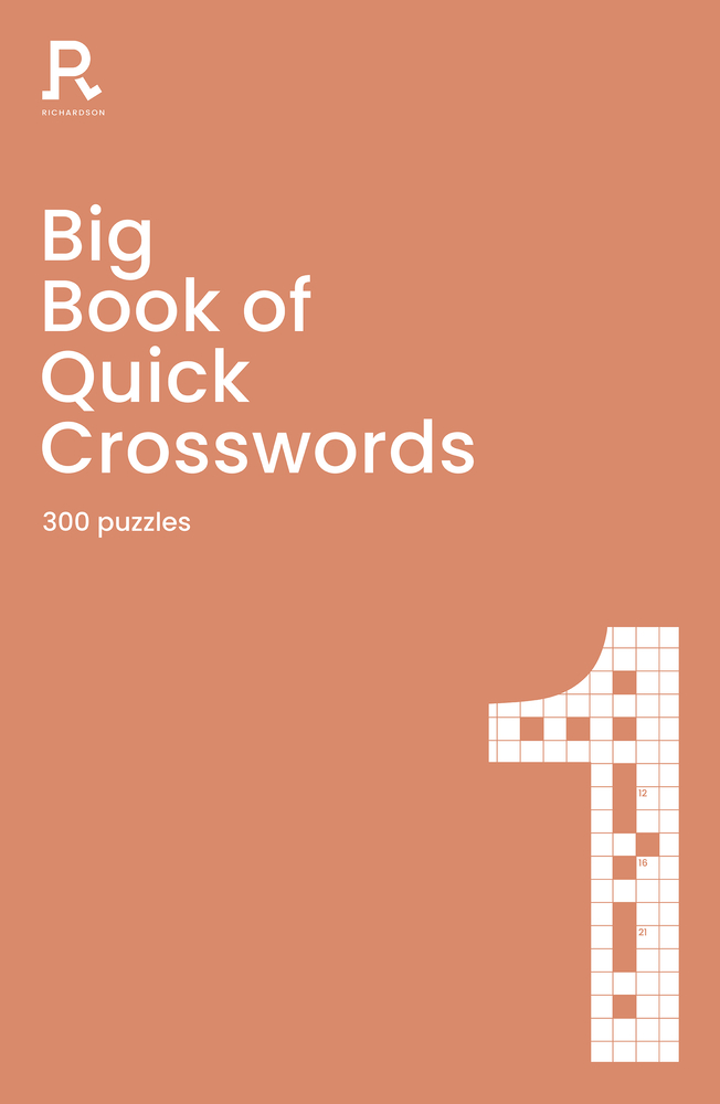 Big Book of Quick Crosswords Book 1: a bumper crossword book for adults containing 300 puzzles