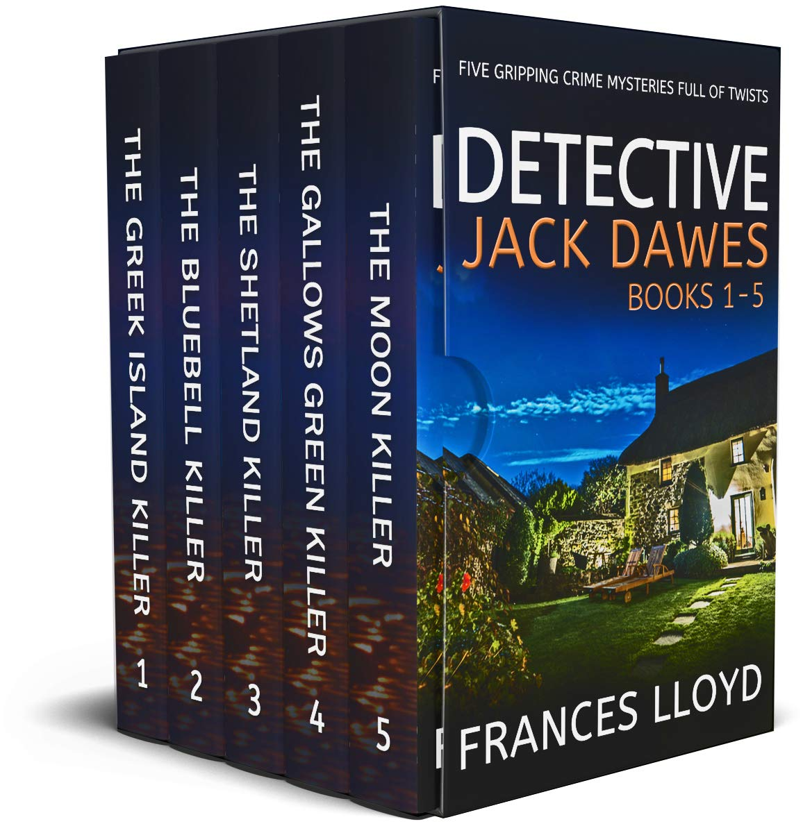 DETECTIVE JACK DAWES BOOKS 1–5 five gripping crime mysteries full of twists