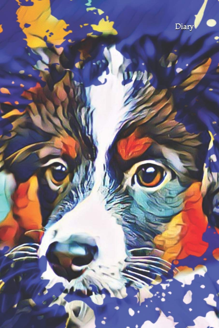 Diary: Notebook Woman Girl Dog Lovers Obedience Agility Notes Dog Sports Sheepdog Dog Breed Dog Training Mini Aussie American Shepherd