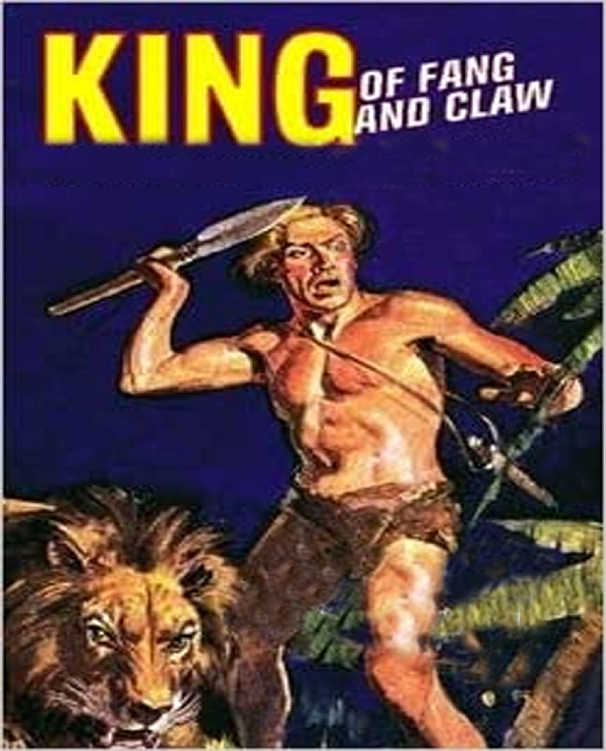 Illustrated King of Fang and Claw: Literary fiction books