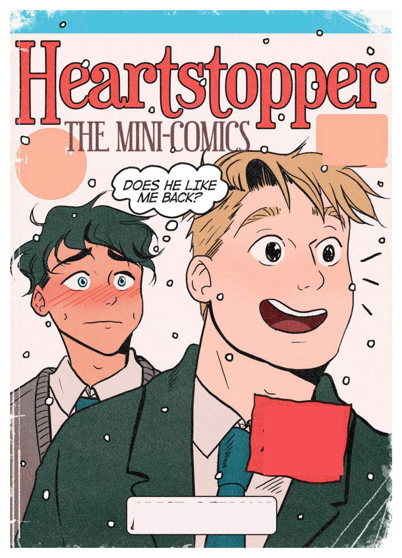 Heartstopper The Mini Comicss: Picture books for children's Enlightenment