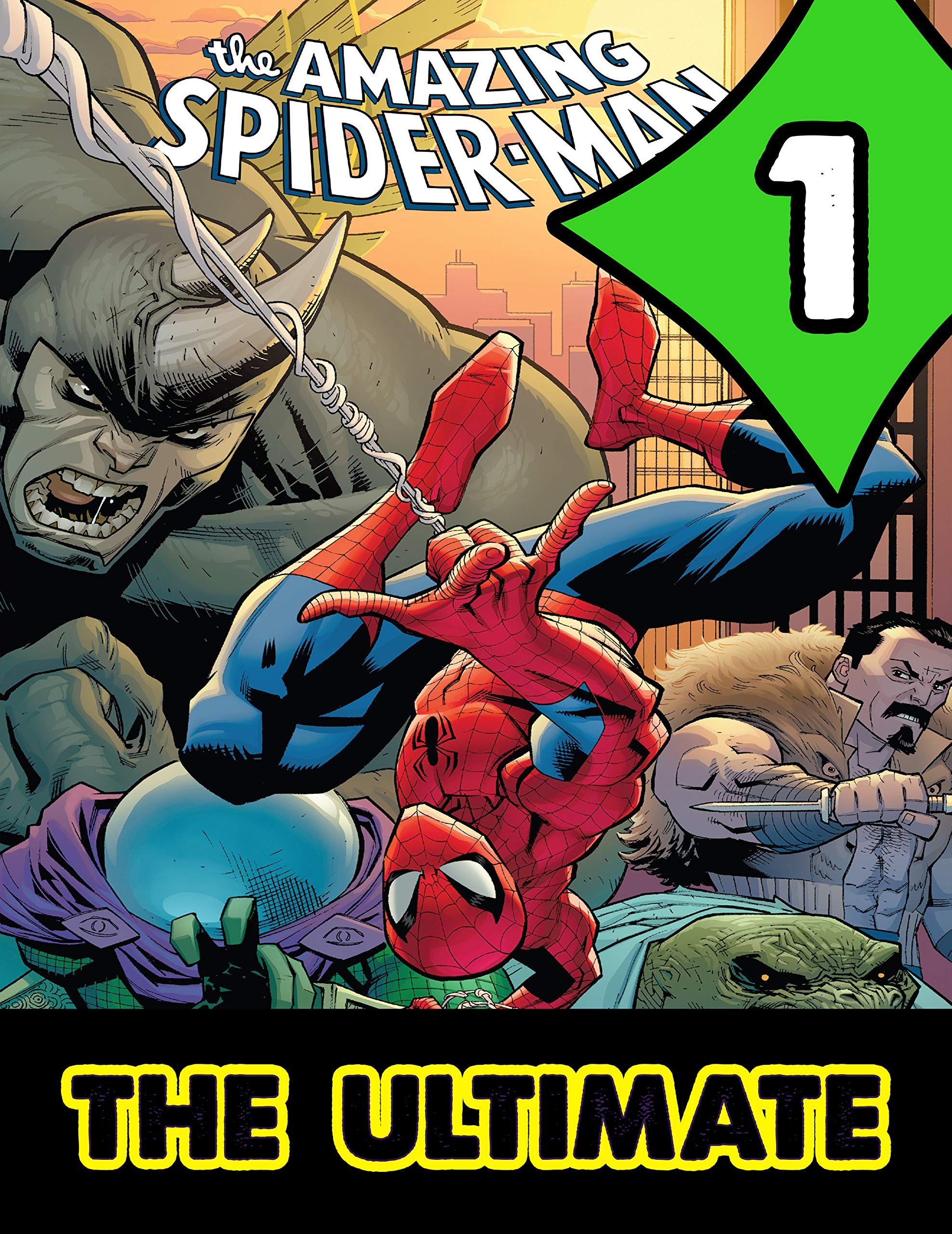 Ultimate Collections Amazing Spider-Man : Book 1 - Best Graphic Novels Comics