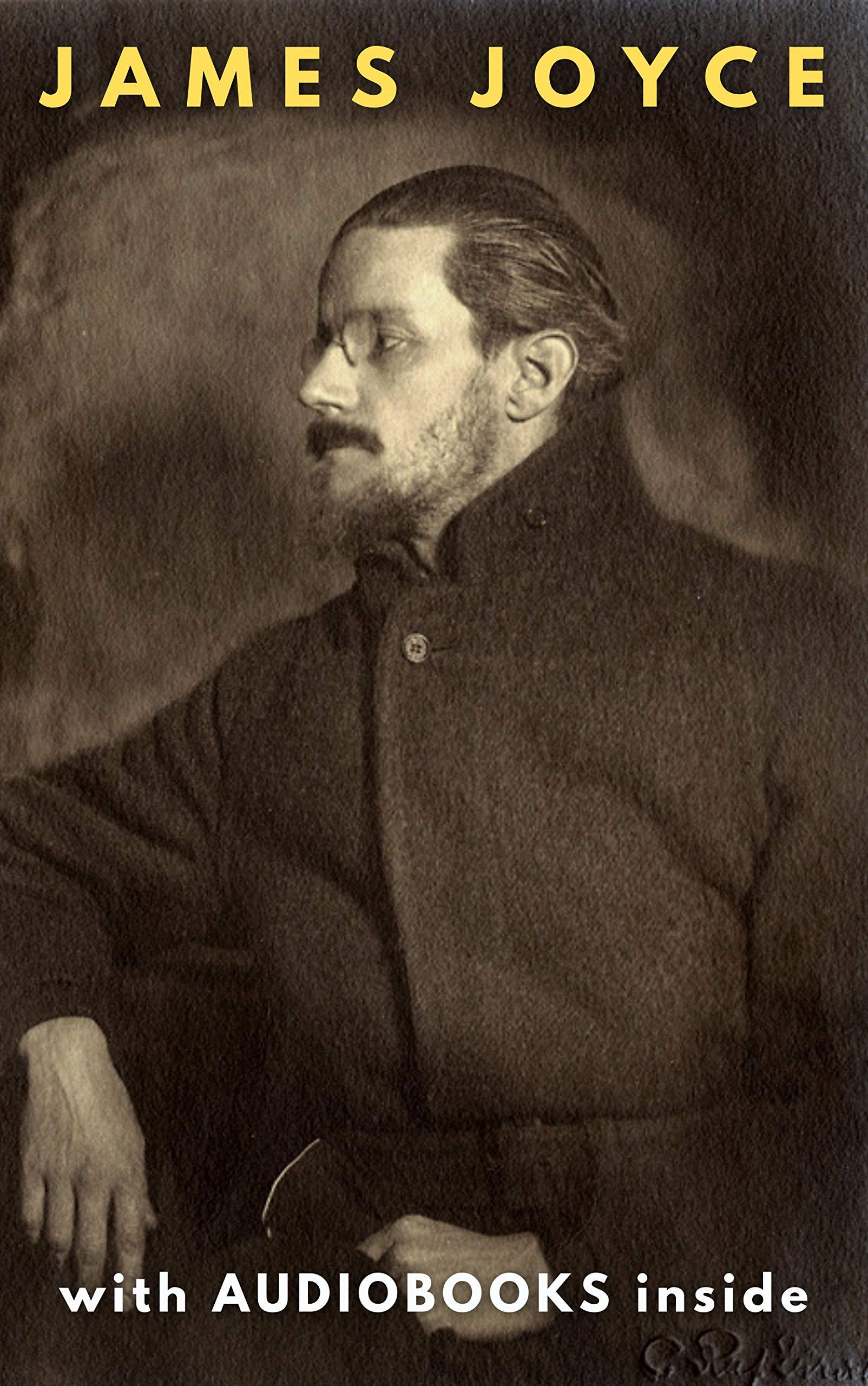 James Joyce (6 books): Ulysses, Dubliners, Finnegans Wake... WITH AUDIOBOOKS