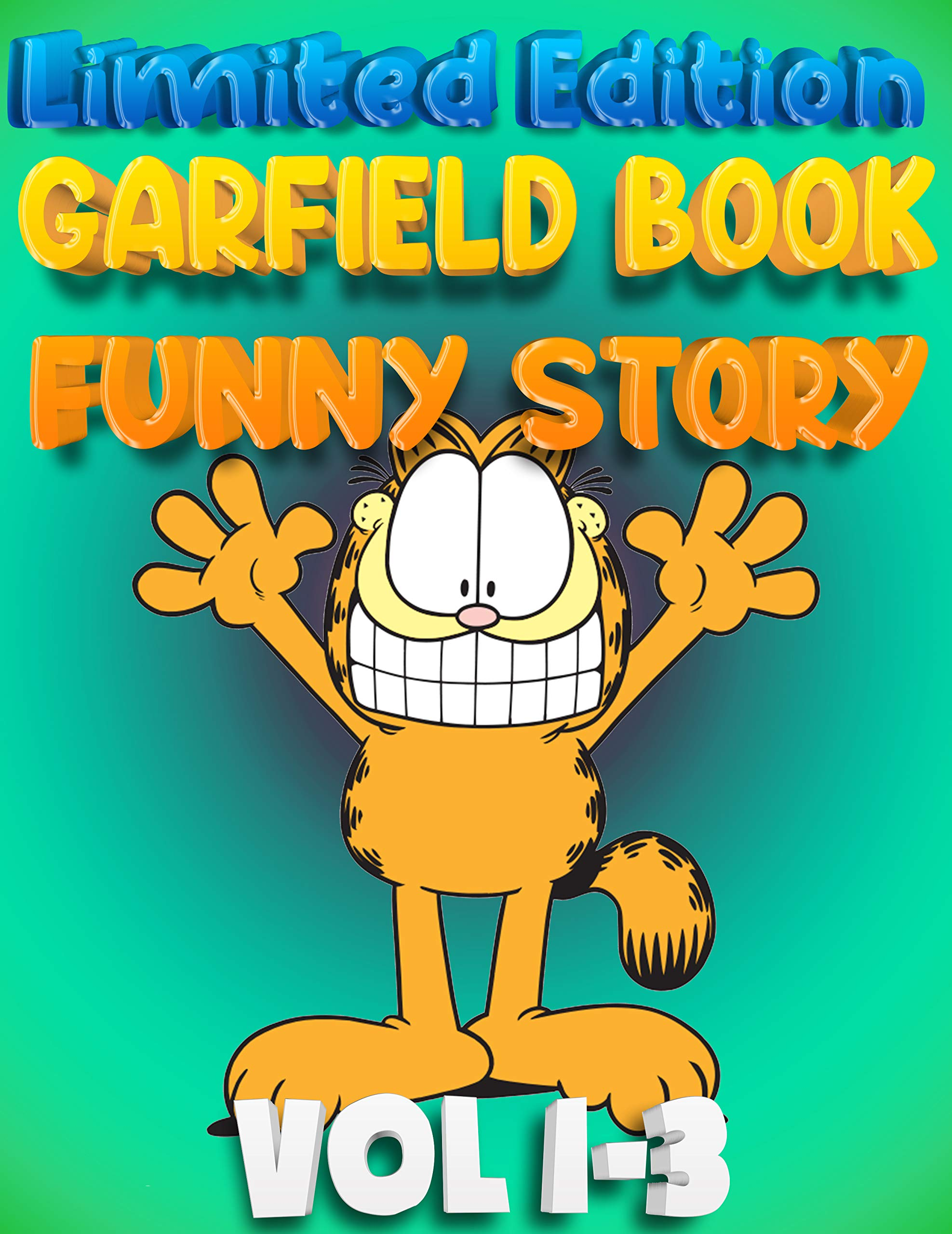 The Best Childrens Books Garfield Full Color Edition Full Series: Complete Edition Vol 1-3