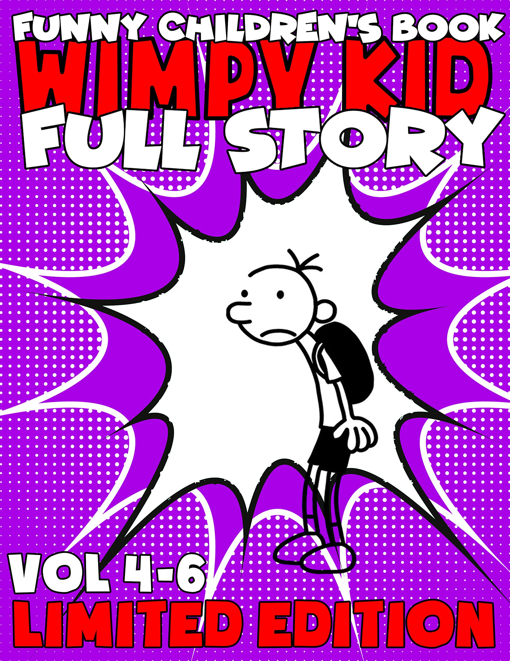 The Best Childrens Books Wimpy Kid Limited Edition Full Series: Complete Edition Vol 4-6