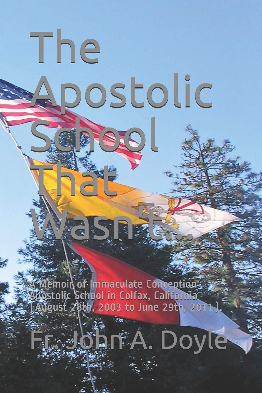 The Apostolic School That Wasn't...: A Memoir of Immaculate Conception Apostolic School in Colfax, California (August 28th, 2003 to June 29th, 2011).