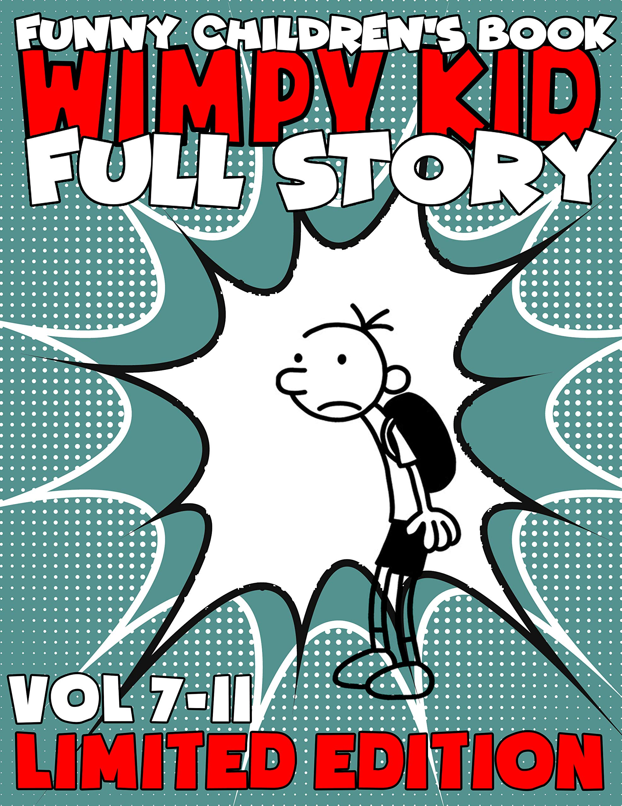 The Best Childrens Books Wimpy Kid Limited Edition Full Series: Complete Edition Vol 7-11