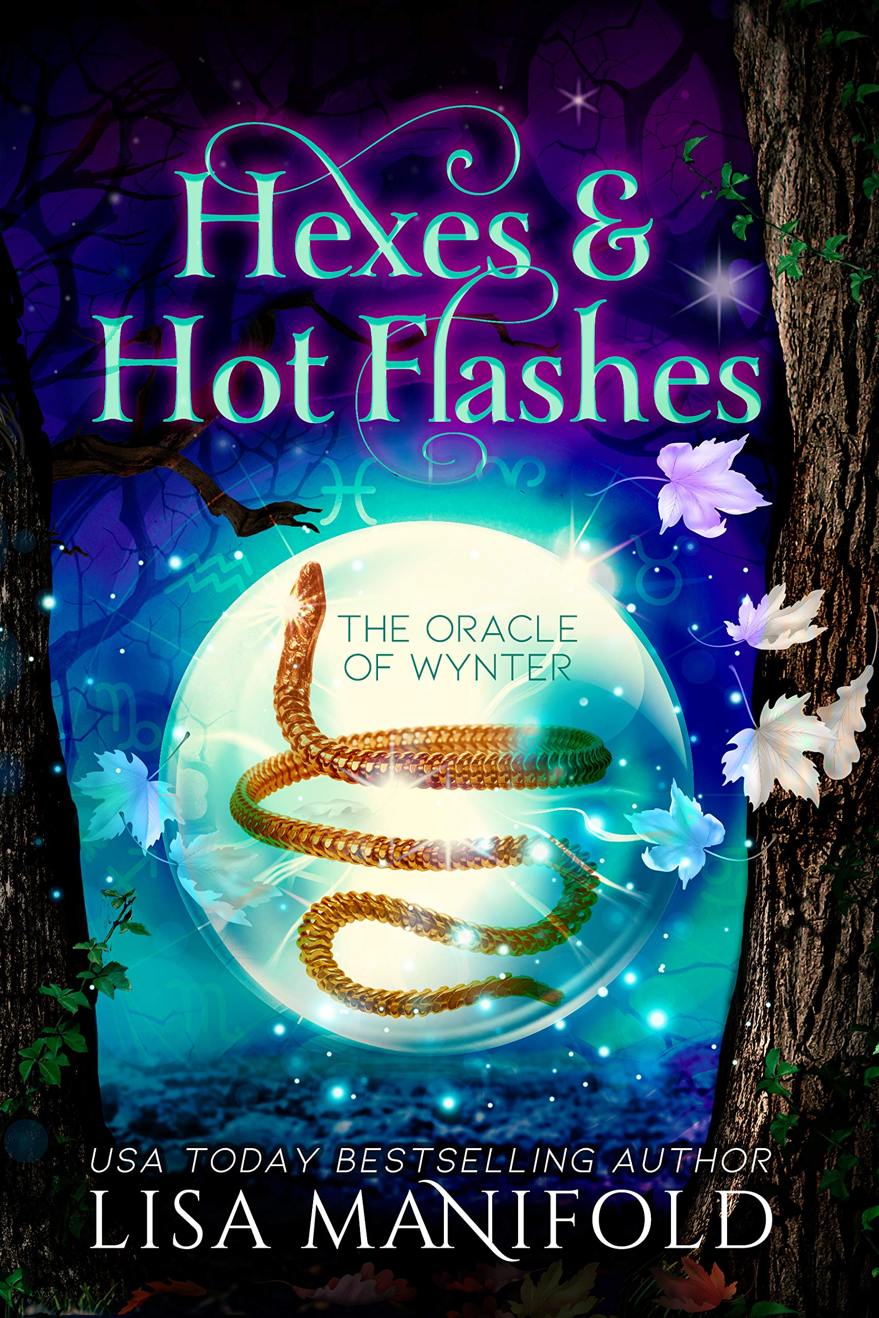 Hexes & Hot Flashes (The Oracle of Wynter #1)