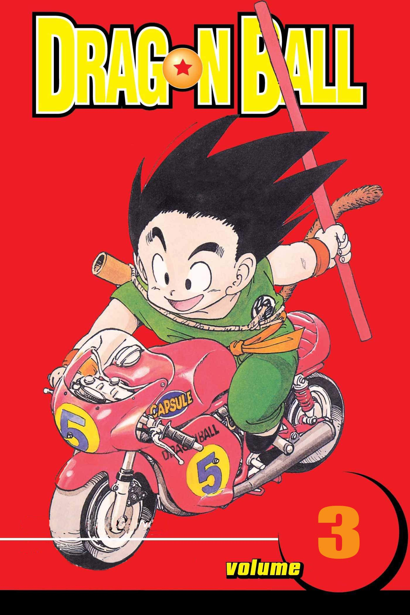 Best action manga Of Year: Dragon Ball Volume 3