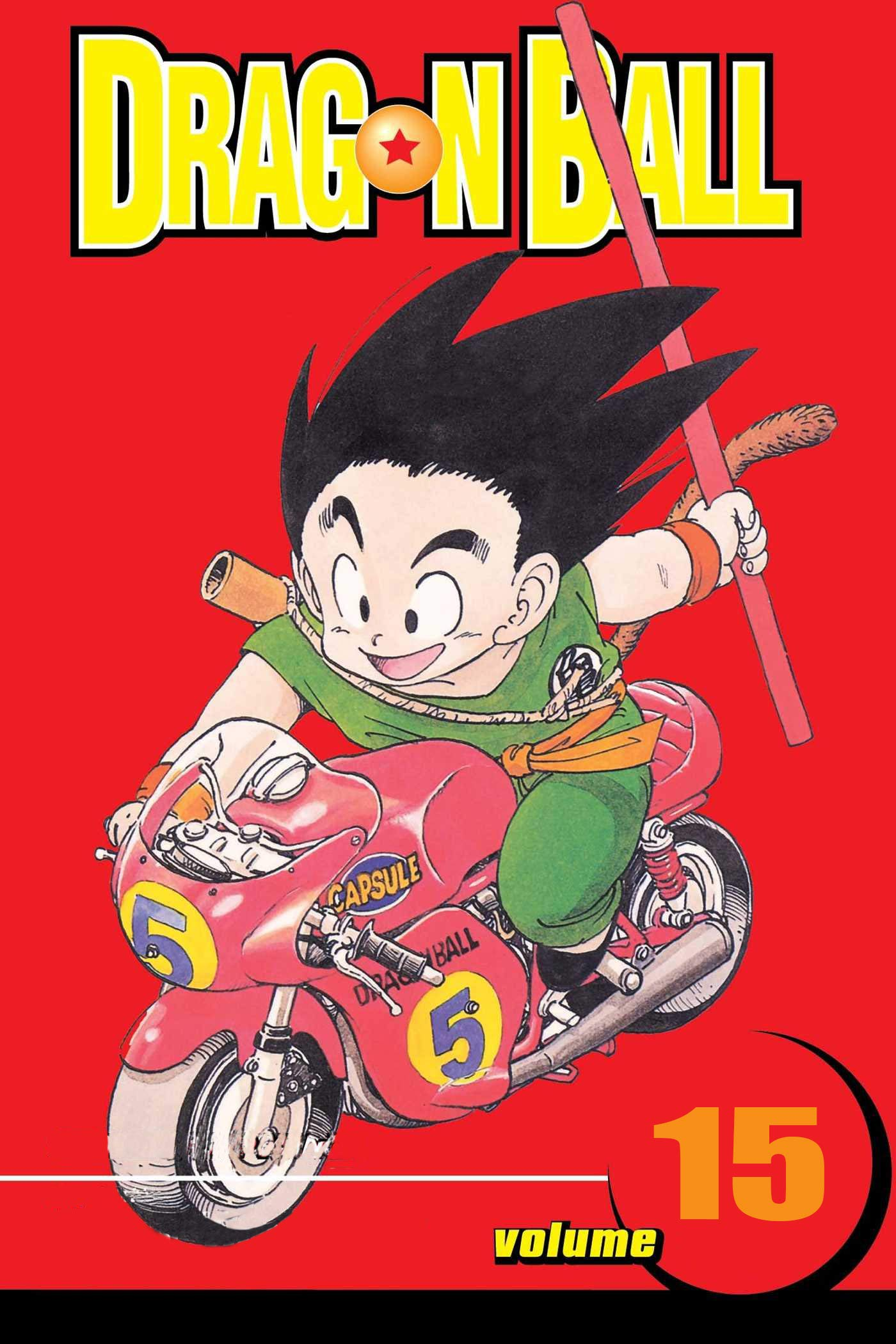 Best action manga Of Year: Dragon Ball Volume 15