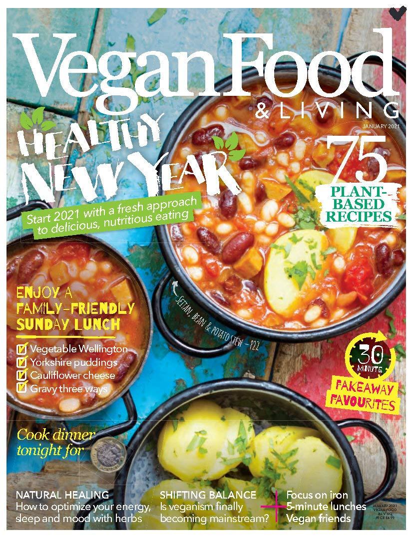 Vegan Food & Living-Healthy New Year 2021: 75 Plant Based Recipes ,January 21