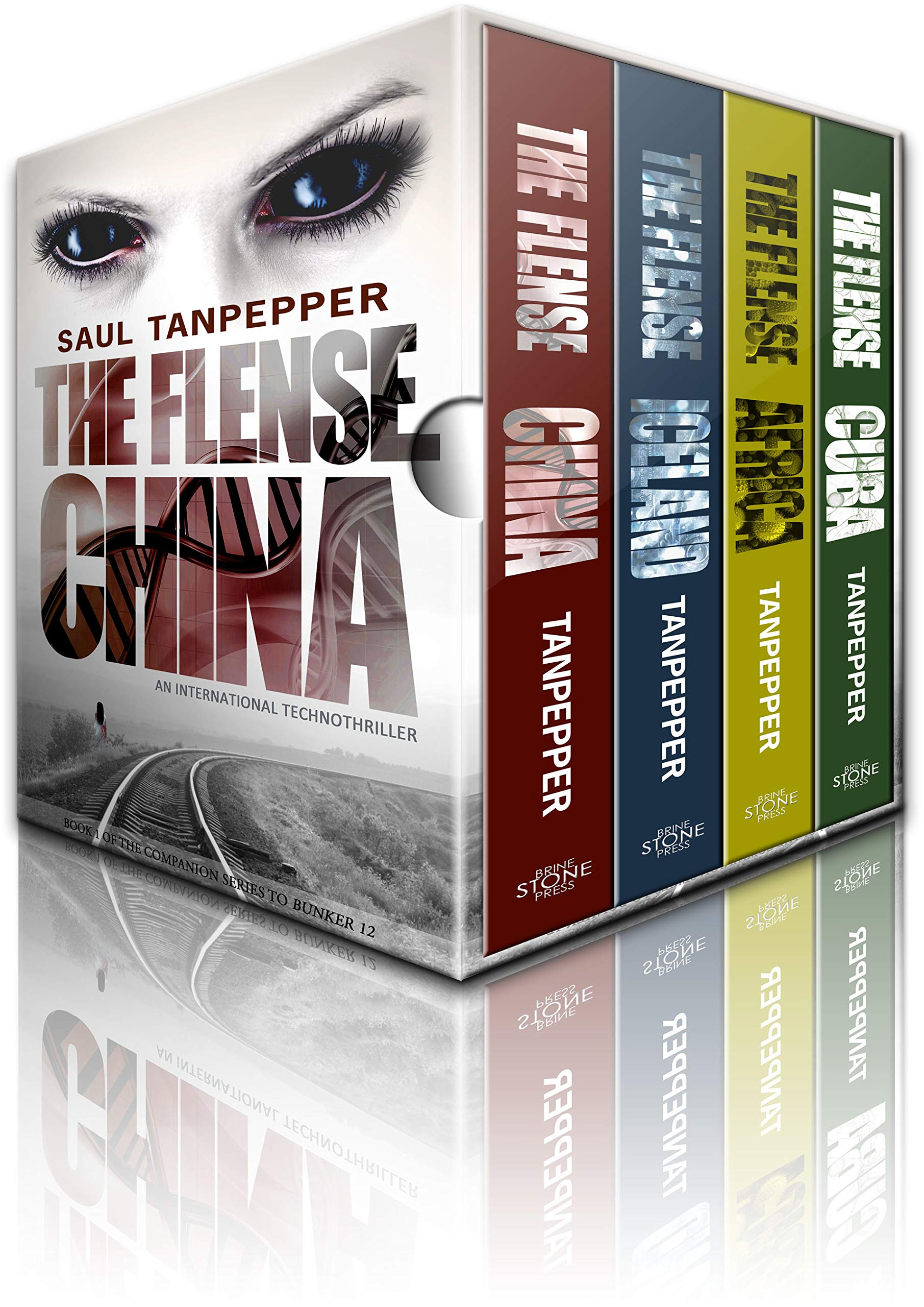 THE FLENSE Omnibus: China, Iceland, Africa, and Cuba: The Pulse-Pounding International Technothriller