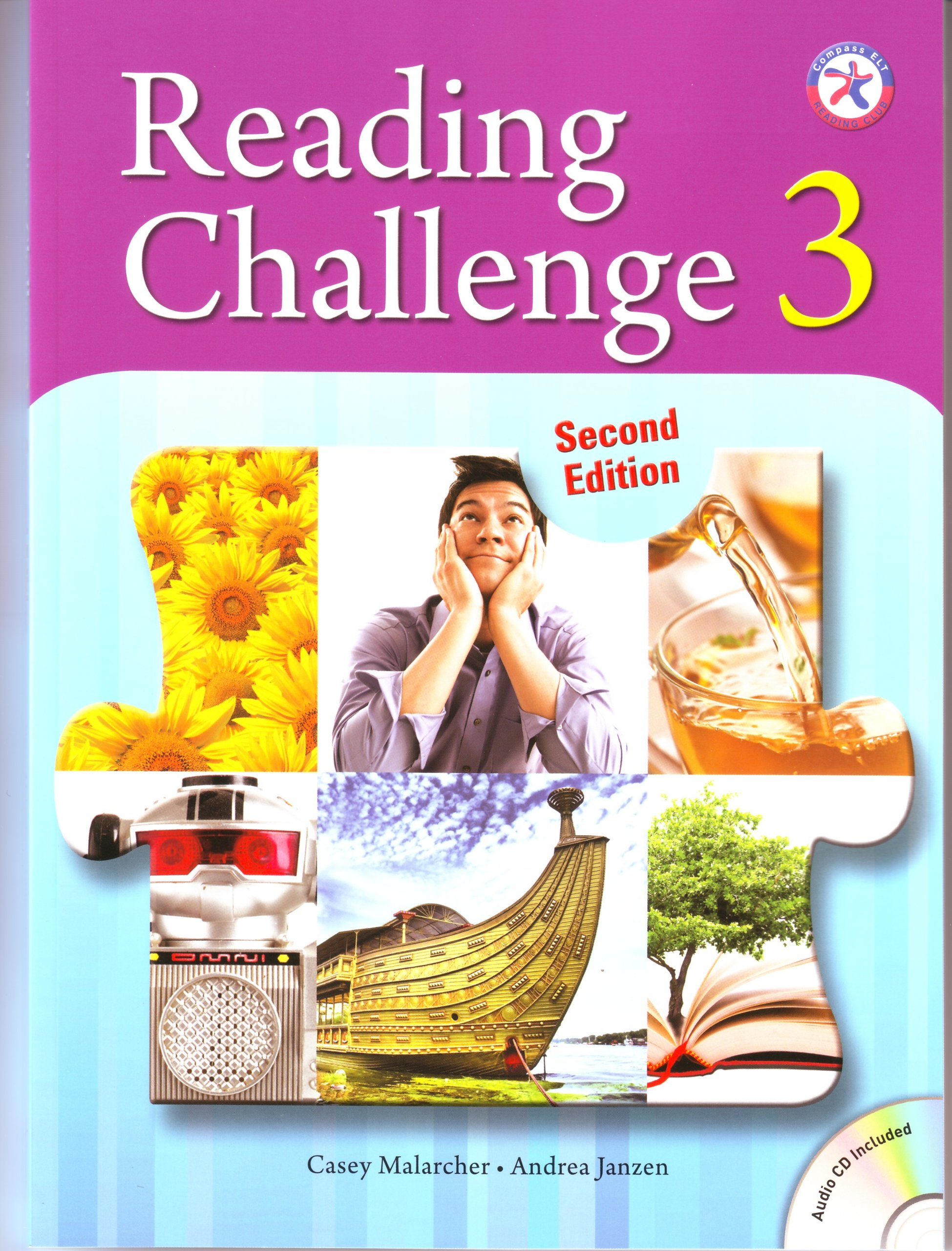 Reading Challenge 3, 2nd Edition w/Audio CD (wide range of interesting and accessible non-fiction content for upper-intermediate level learners)