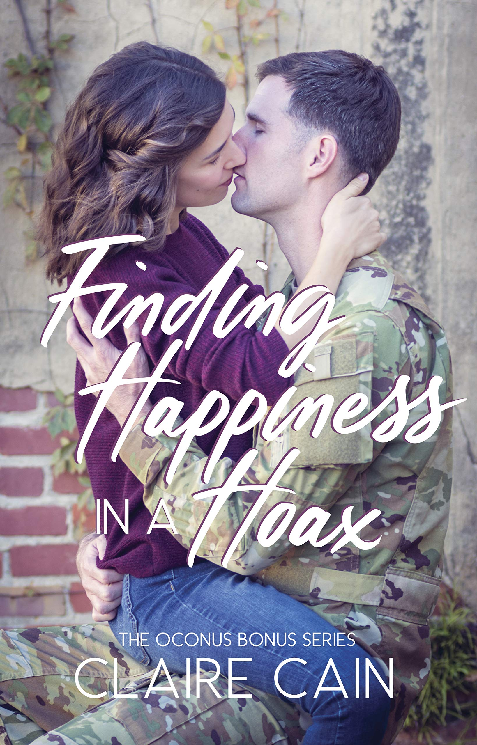 Finding Happiness in a Hoax: A Sweet Military Romance (The OCONUS Bonus Book 2)