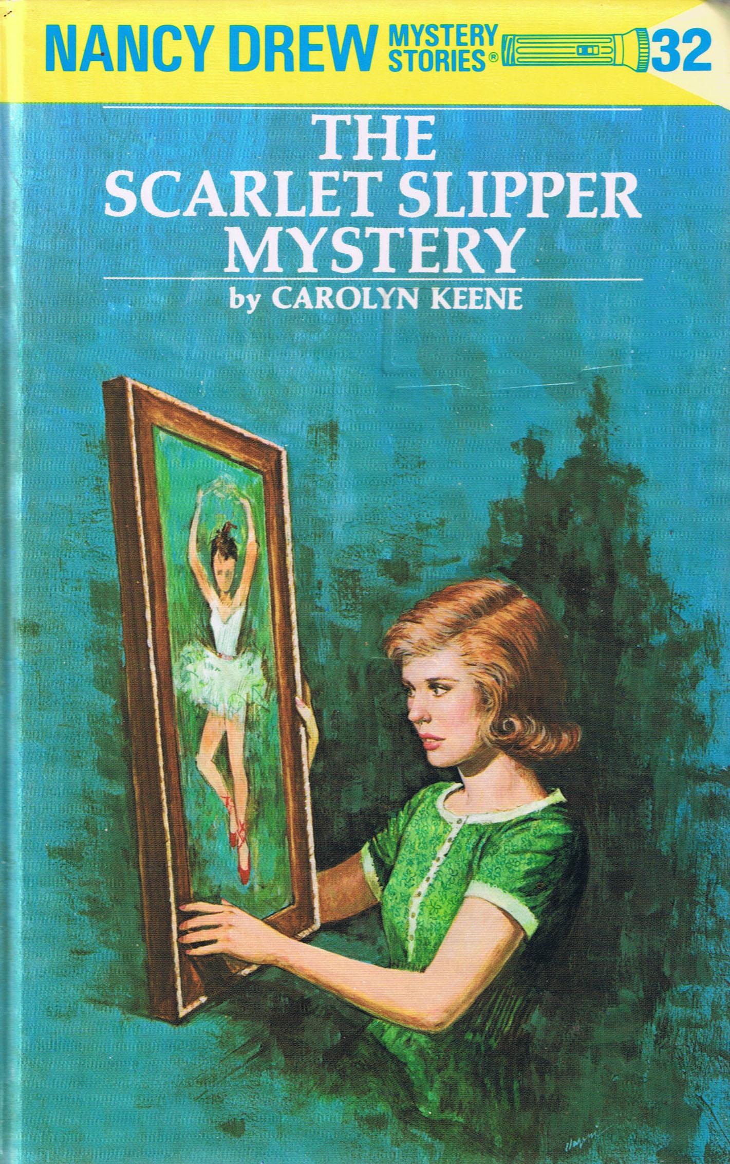 The Scarlet Slipper Mystery (Nancy Drew Mystery Stories, #32)